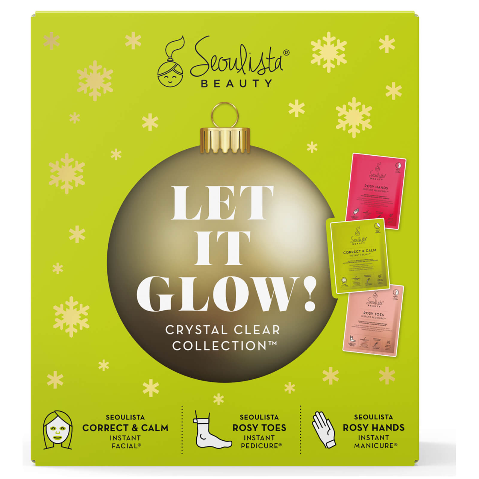 Купить Seoulista Beauty Christmas Pack - Let it Glow! Crystal Clear Collection