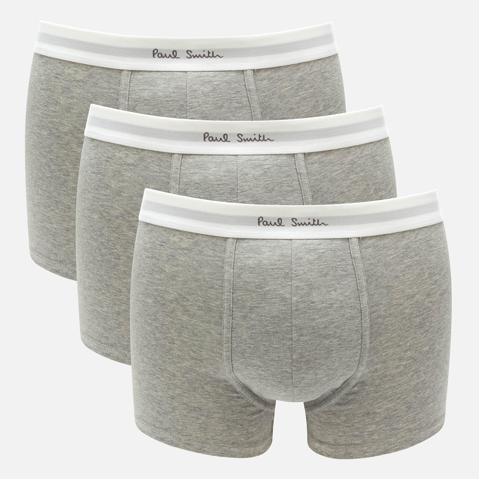 Ps Paul Smith Men's 3-Pack Boxer Breifs - Grey - S