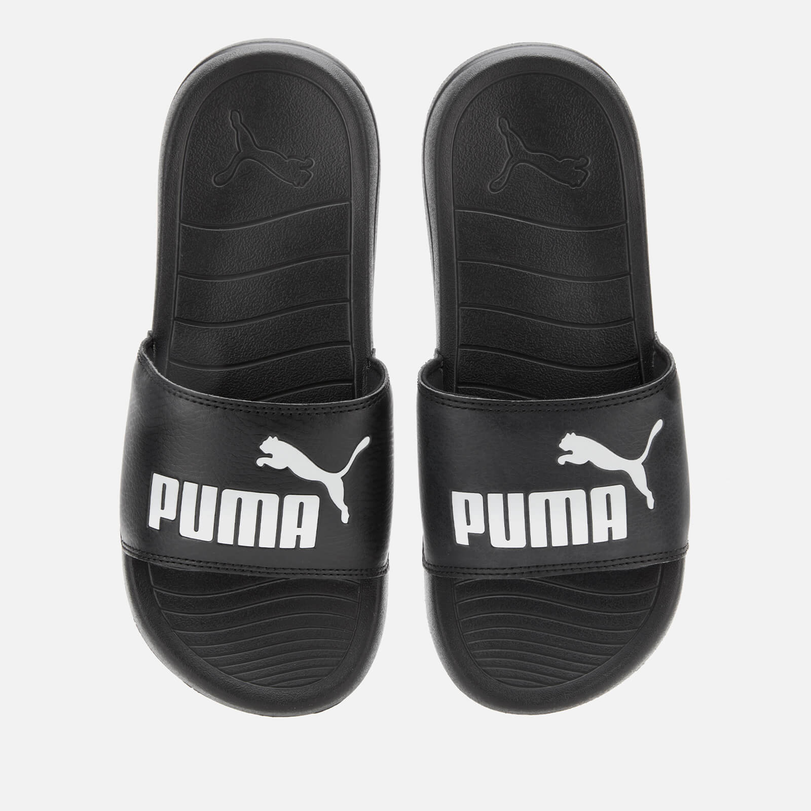 Click to view product details and reviews for Puma Mens Popcat 20 Slide Sandals Puma Black Puma White Uk 8 Black.