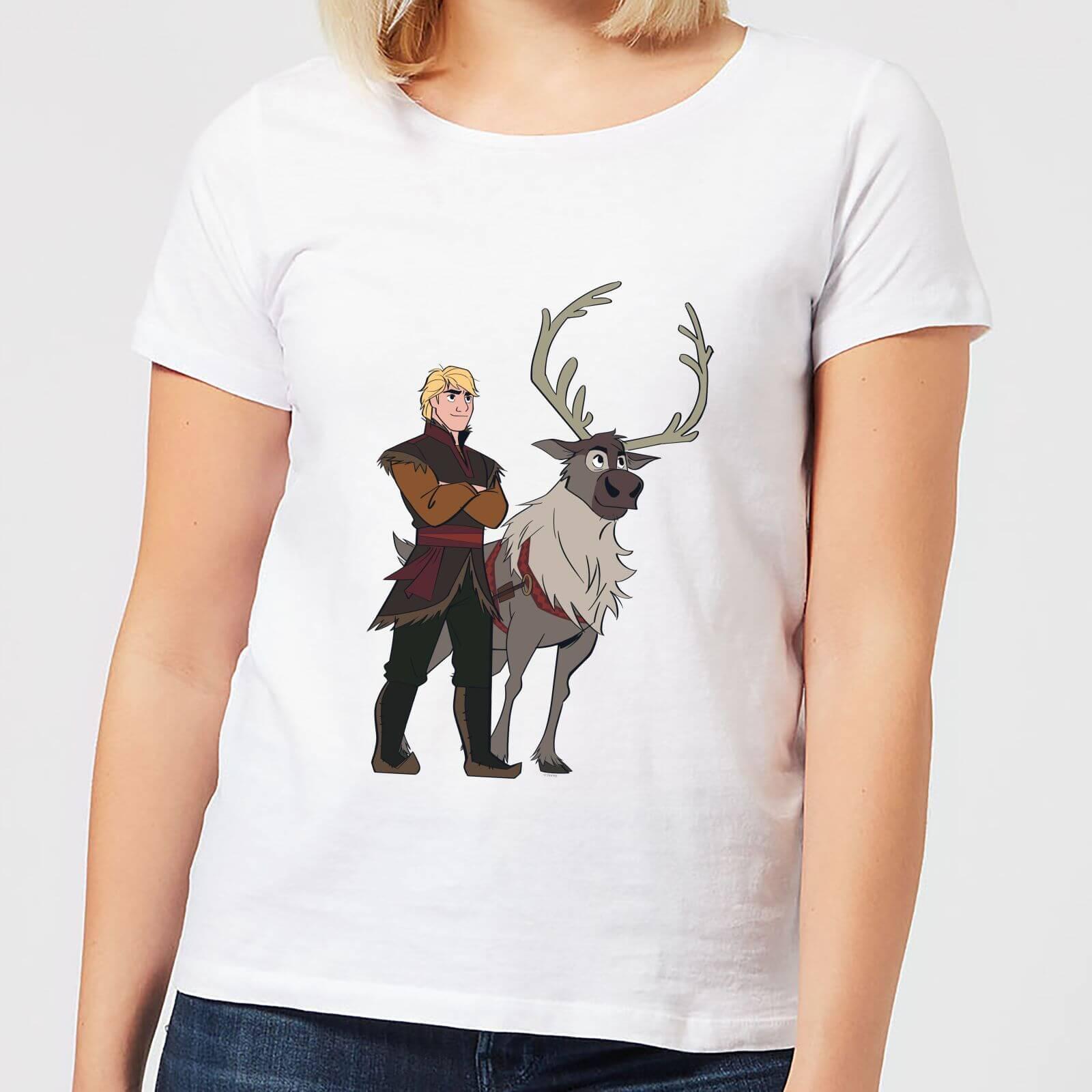 Frozen 2 Sven And Kristoff Women's T-Shirt - White - 3XL - Weiß