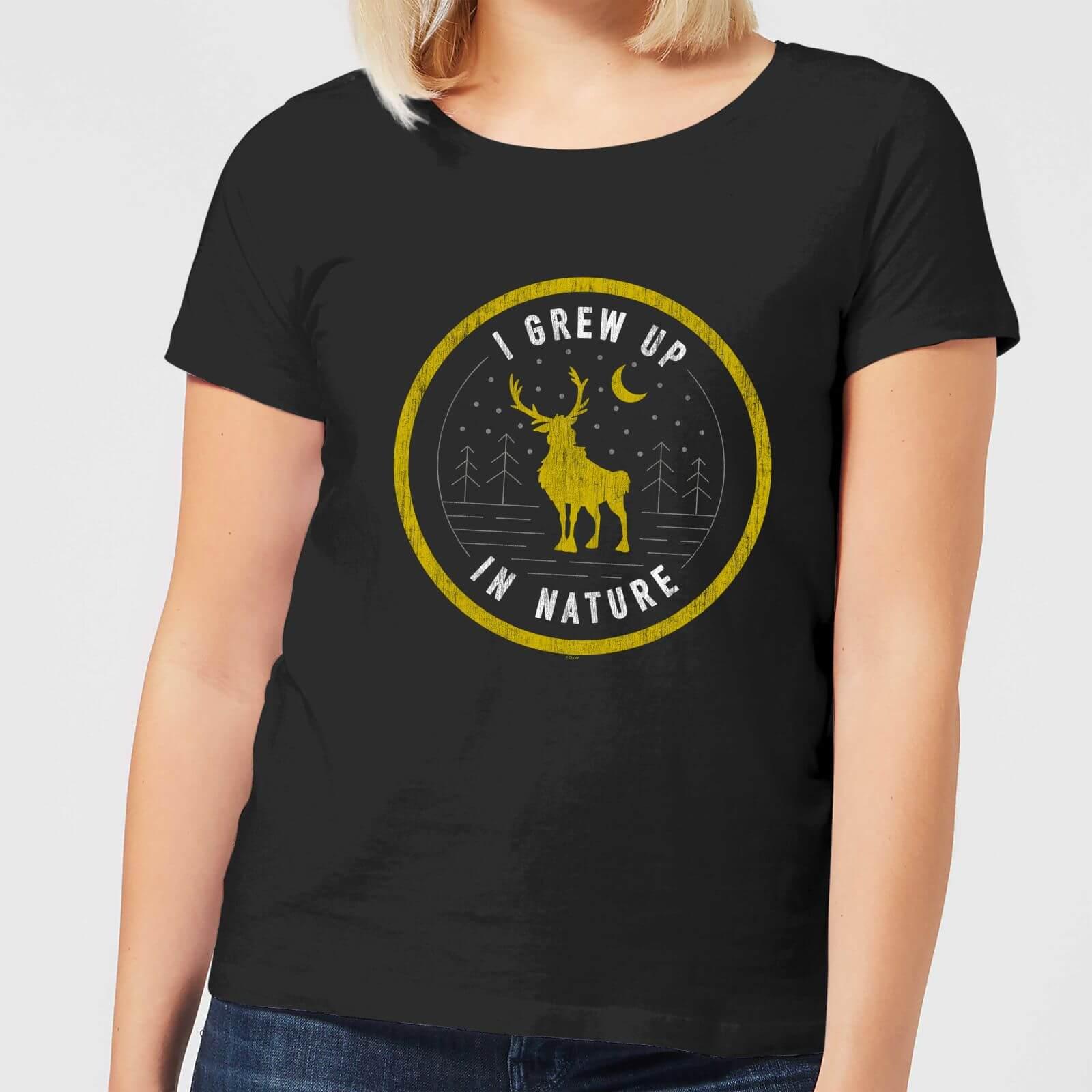 Frozen 2 I Grew Up In Nature Women's T-Shirt - Black - 3XL - Black