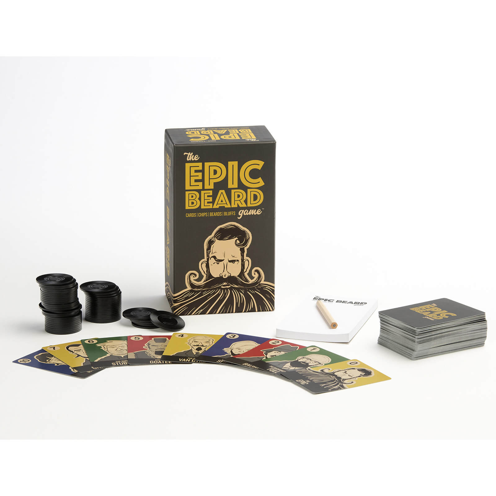 Image of The Epic Beard Game Card Game