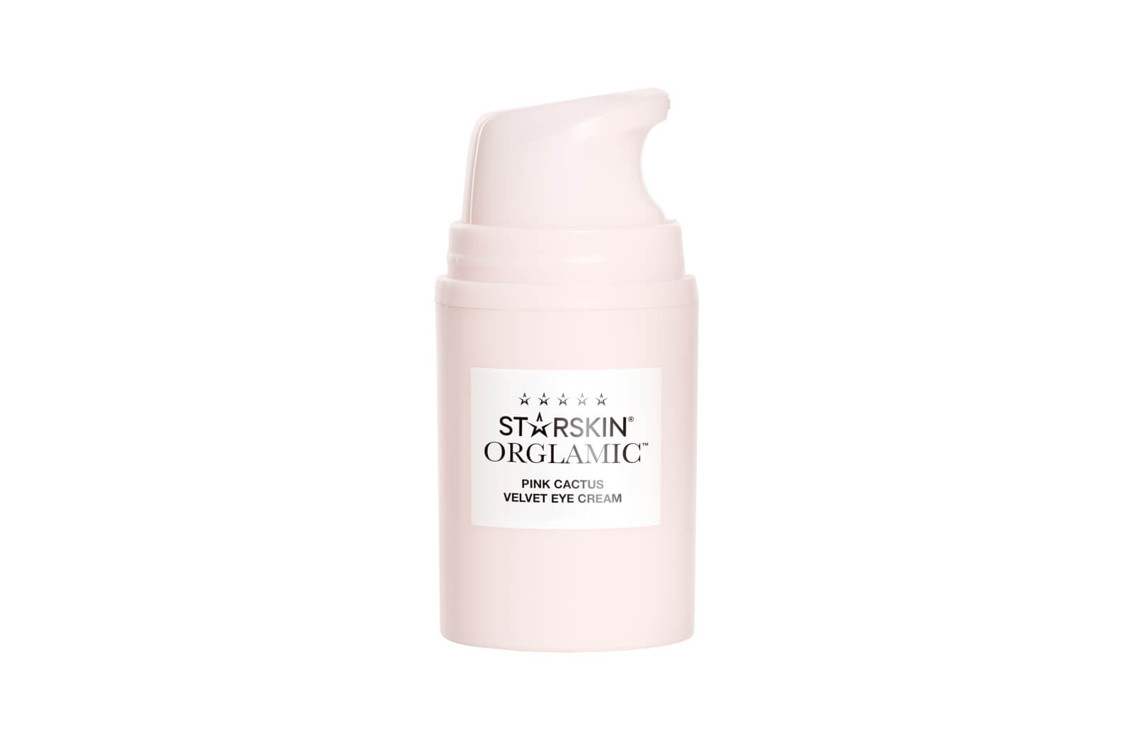STARSKIN Orglamic Pink Cactus Velvet Eye Cream Smooth and Repair 15ml
