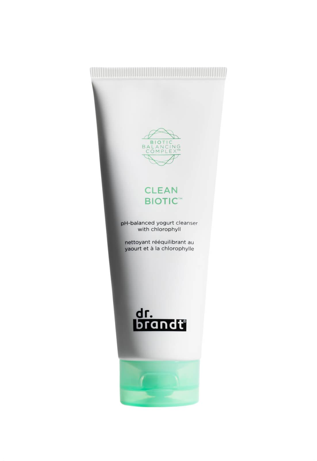 Dr. Brandt Clean Biotic pH Balanced Yogurt Cleanser with Chlorophyll 100ml