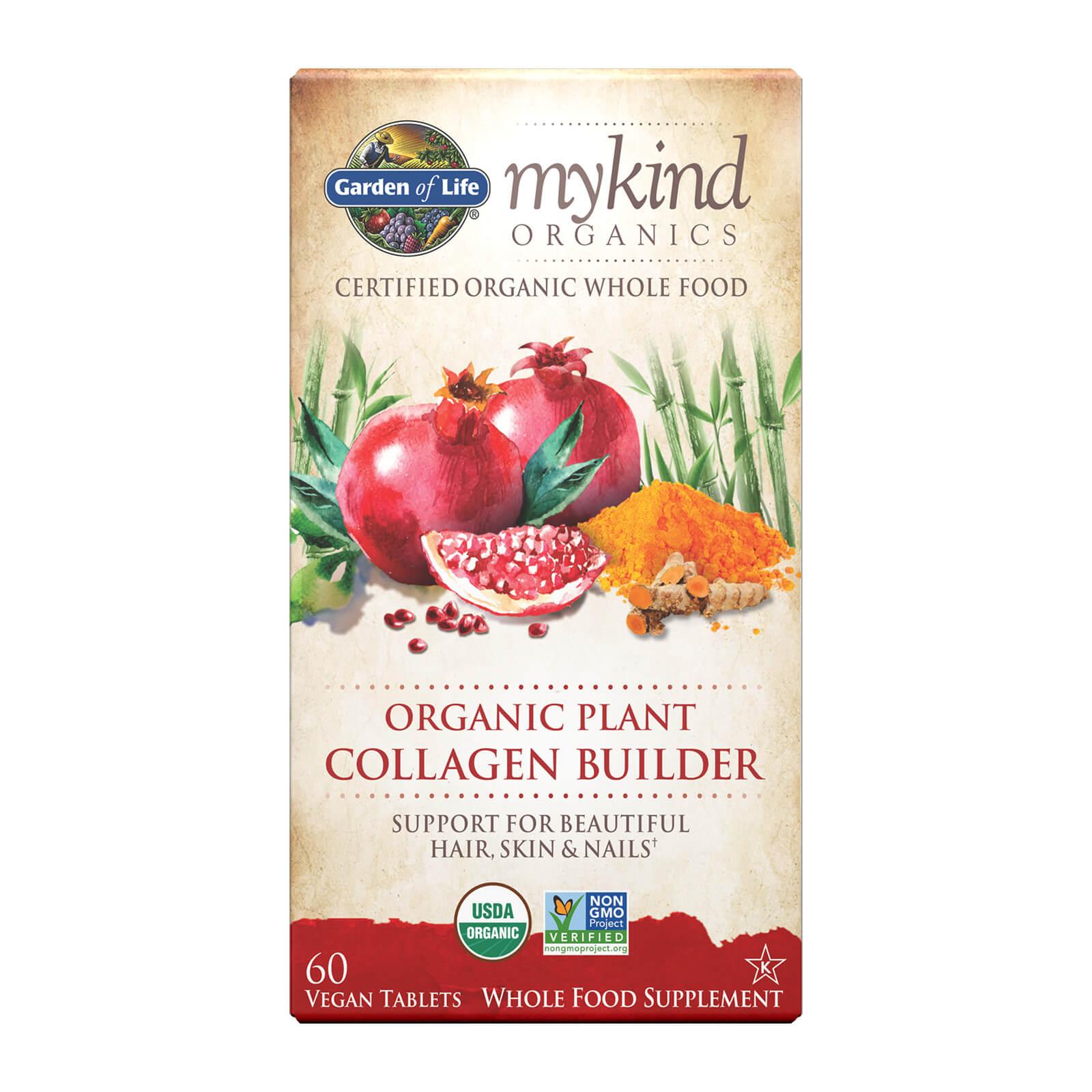 mykind Organics Plantaardig Collageen Opbouwer - 60 tabletten