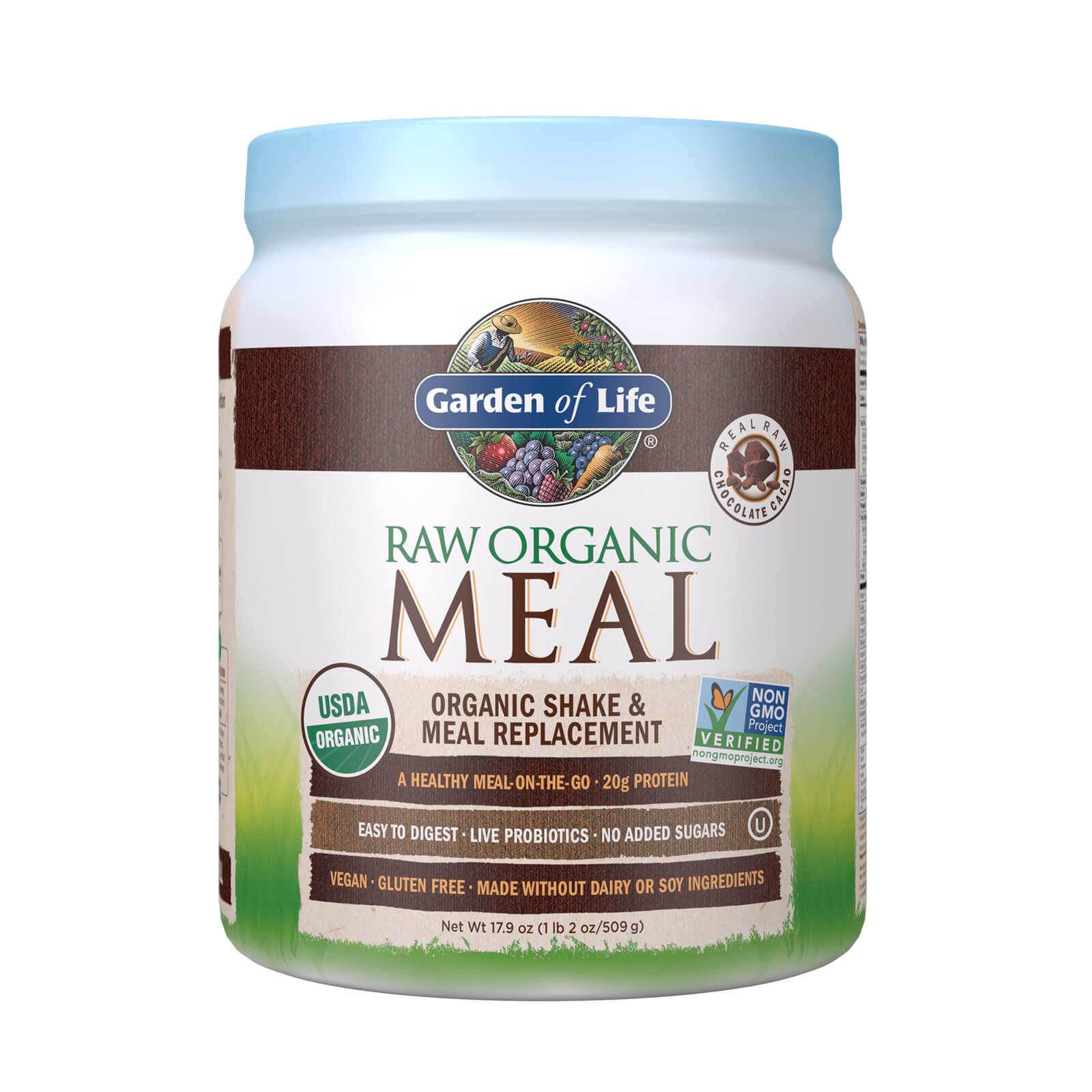 Raw Organic Alles-In-Eén-Shake - Chocolade - 509g
