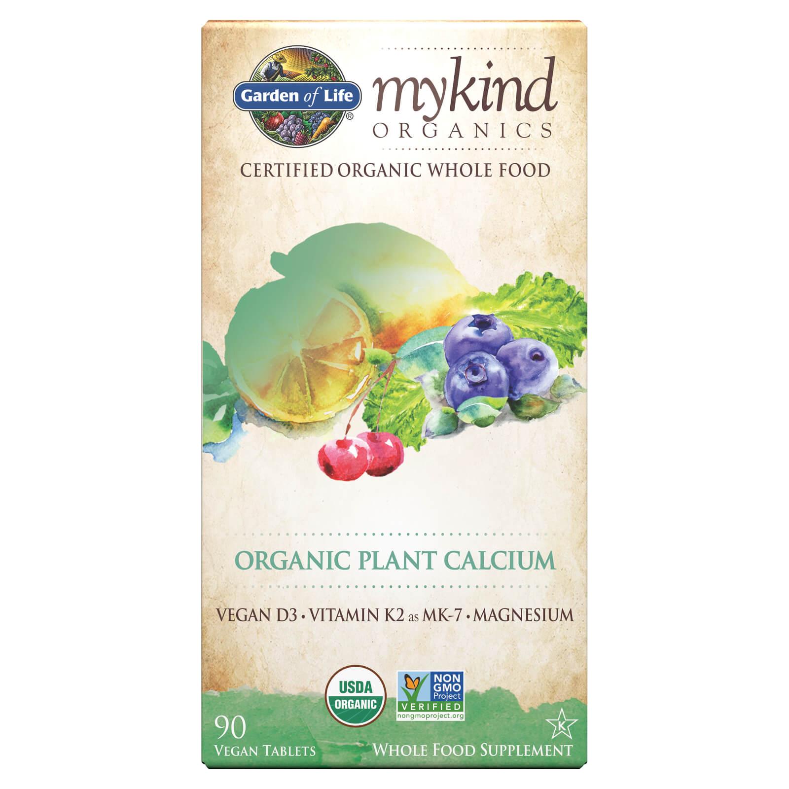 mykind Organics Plantaardig Calcium - 90 tabletten