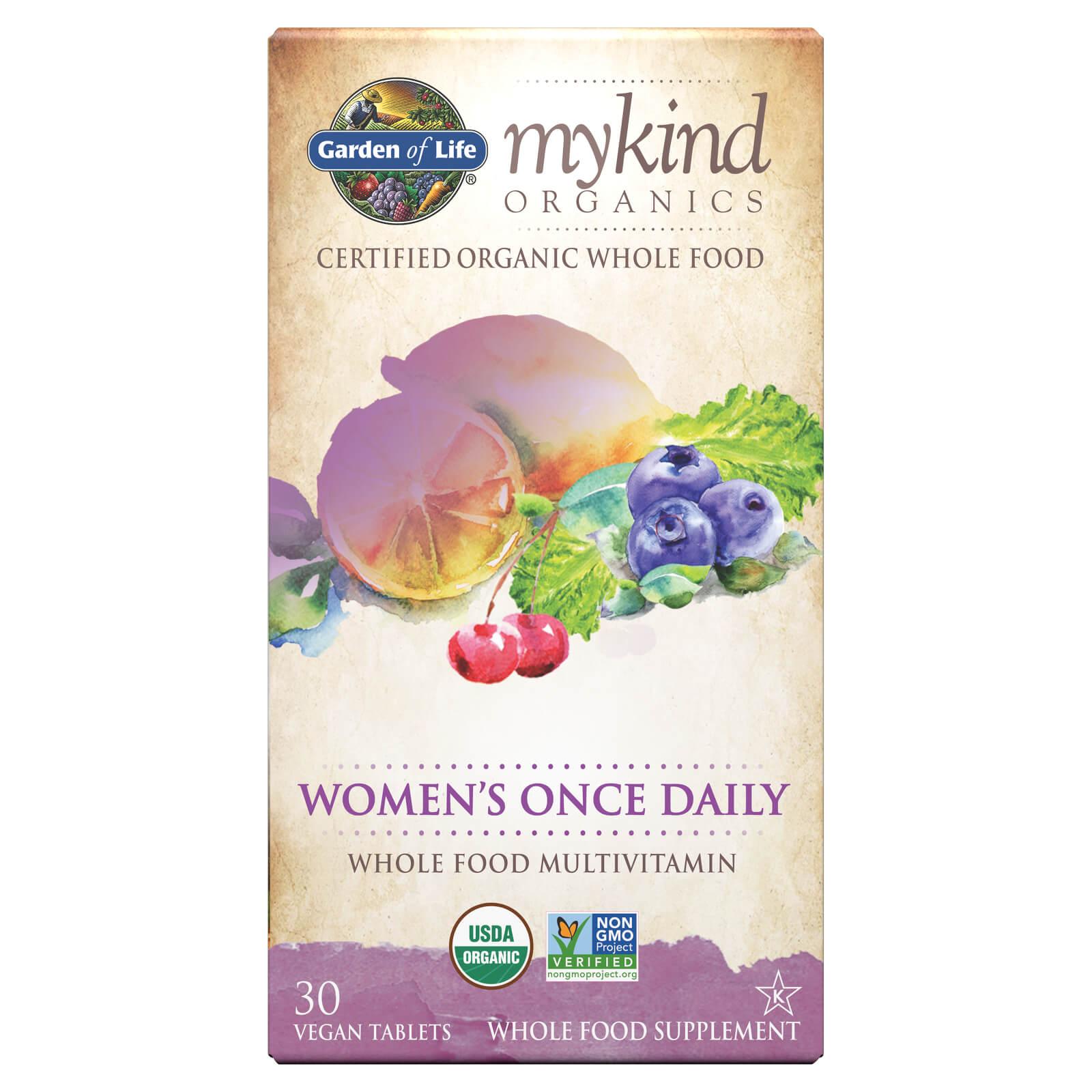 mykind Organics Vrouwen Eén per Dag - 30 tabletten
