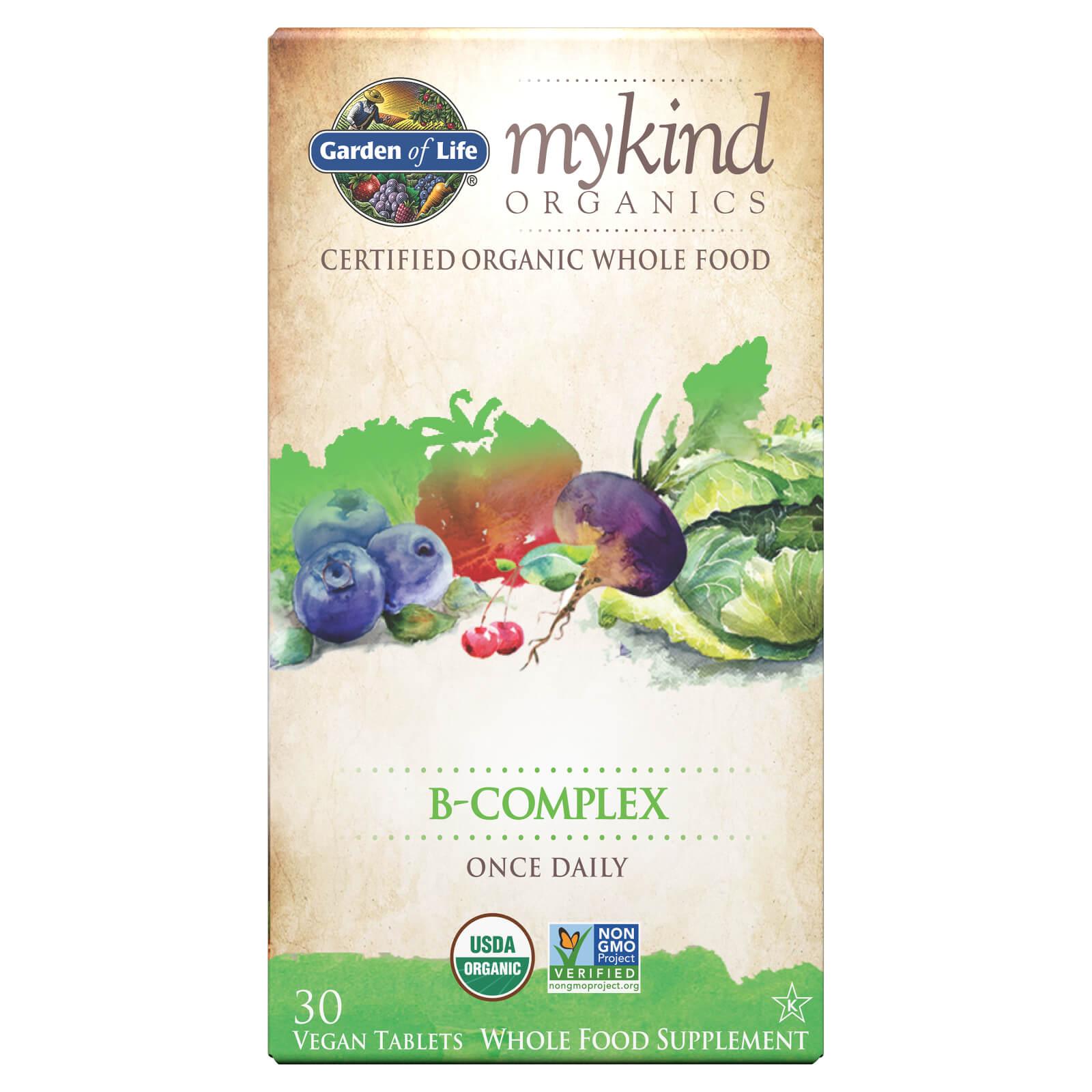 mykind Organics B-Complex - 30 tabletten