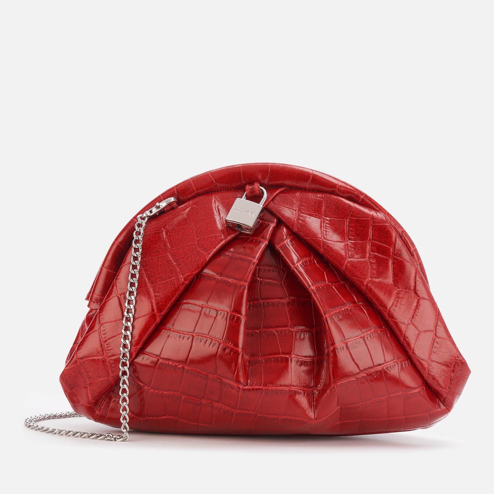 Núnoo Women's Saki Croco Bag - Red