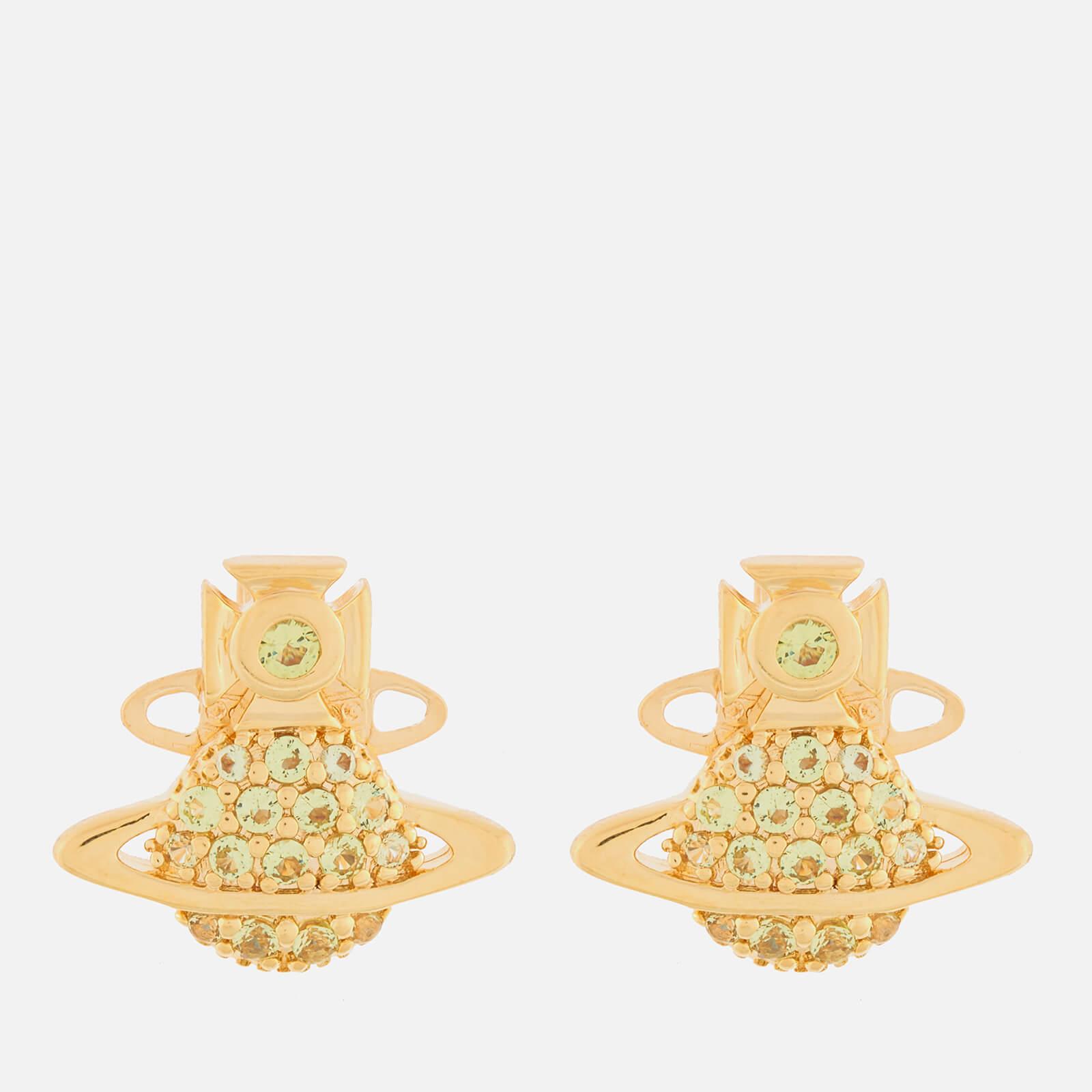 Vivienne Westwood Women's Tamia Earrings - Gold Peridot