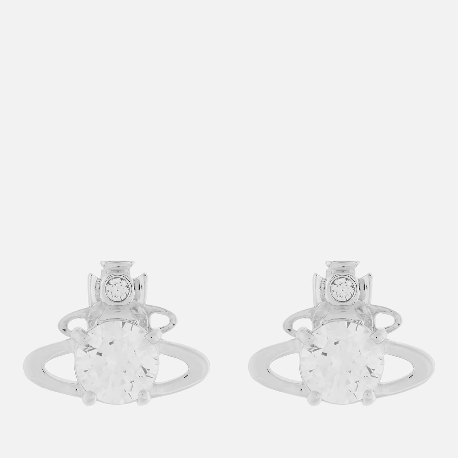 Vivienne Westwood Women's Reina Earrings - Rhodium White CZ