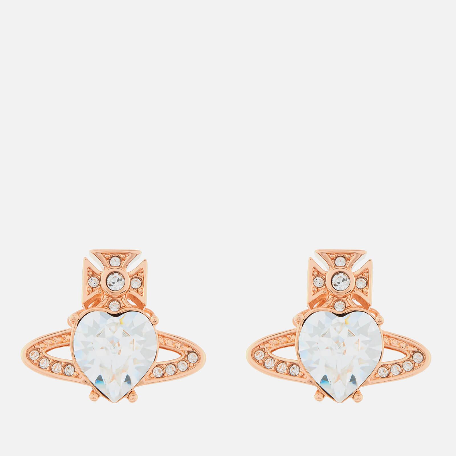Vivienne Westwood Women's Ariella Earrings - Pink Gold Crystal