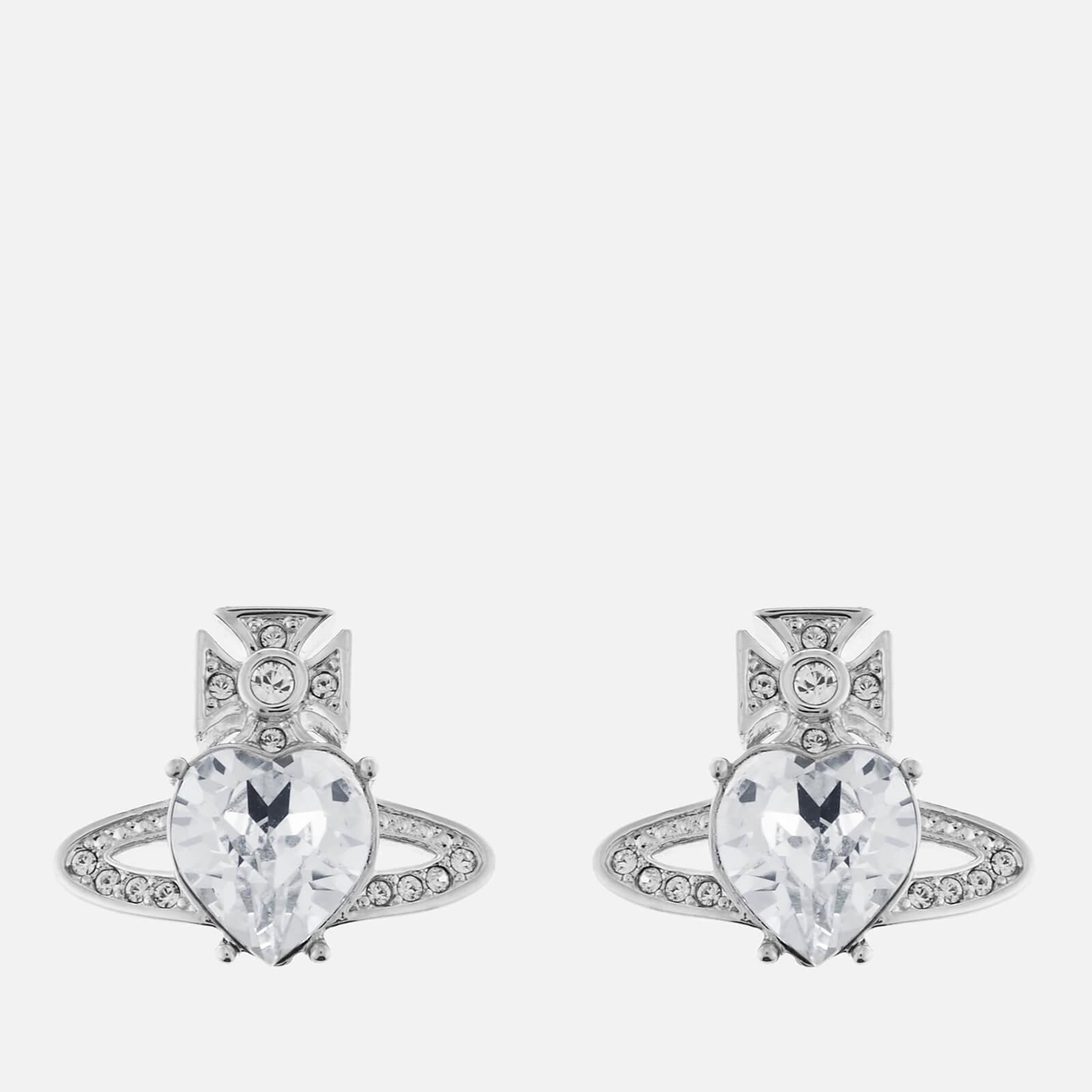 Vivienne Westwood Women's Ariella Earrings - Rhodium Crystal