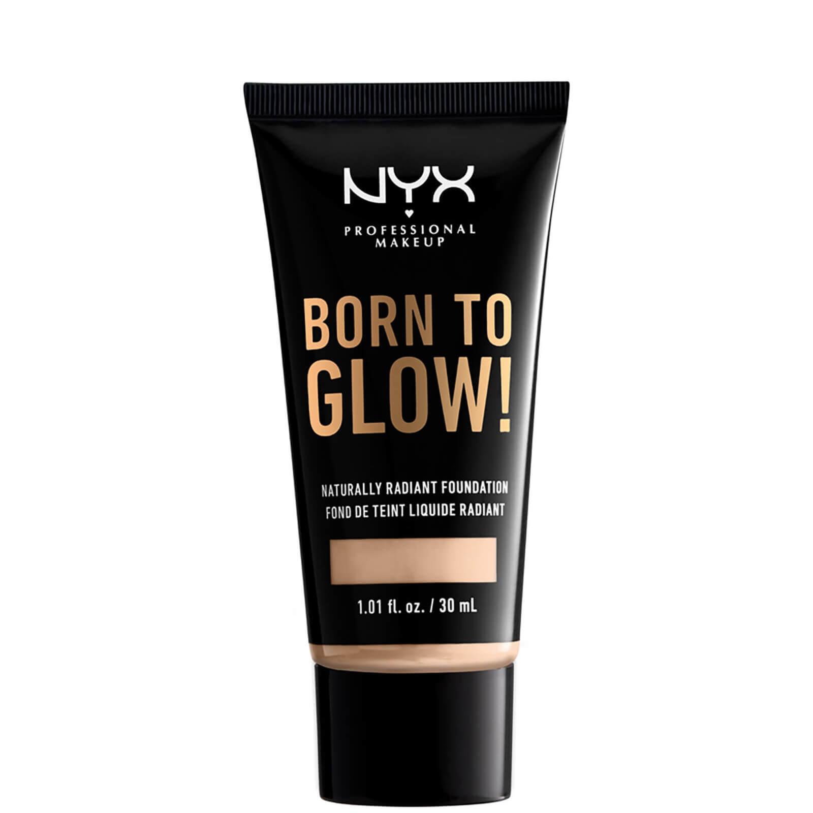 Купить NYX Professional Makeup Born to Glow Naturally Radiant Foundation 30ml (Various Shades) - Light Ivory