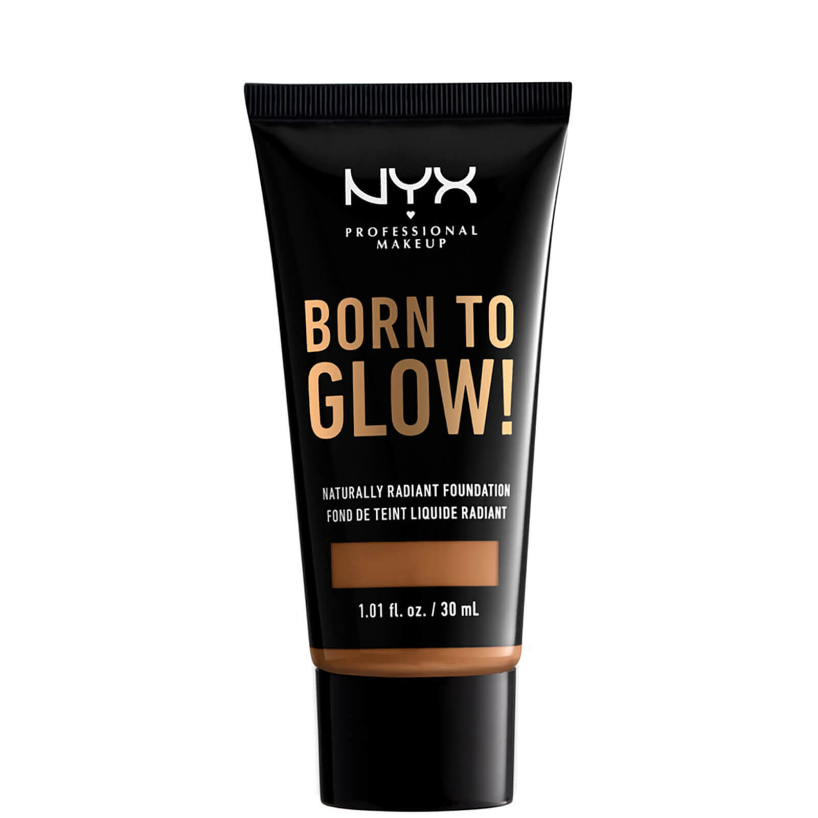 Купить NYX Professional Makeup Born to Glow Naturally Radiant Foundation 30ml (Various Shades) - Almond