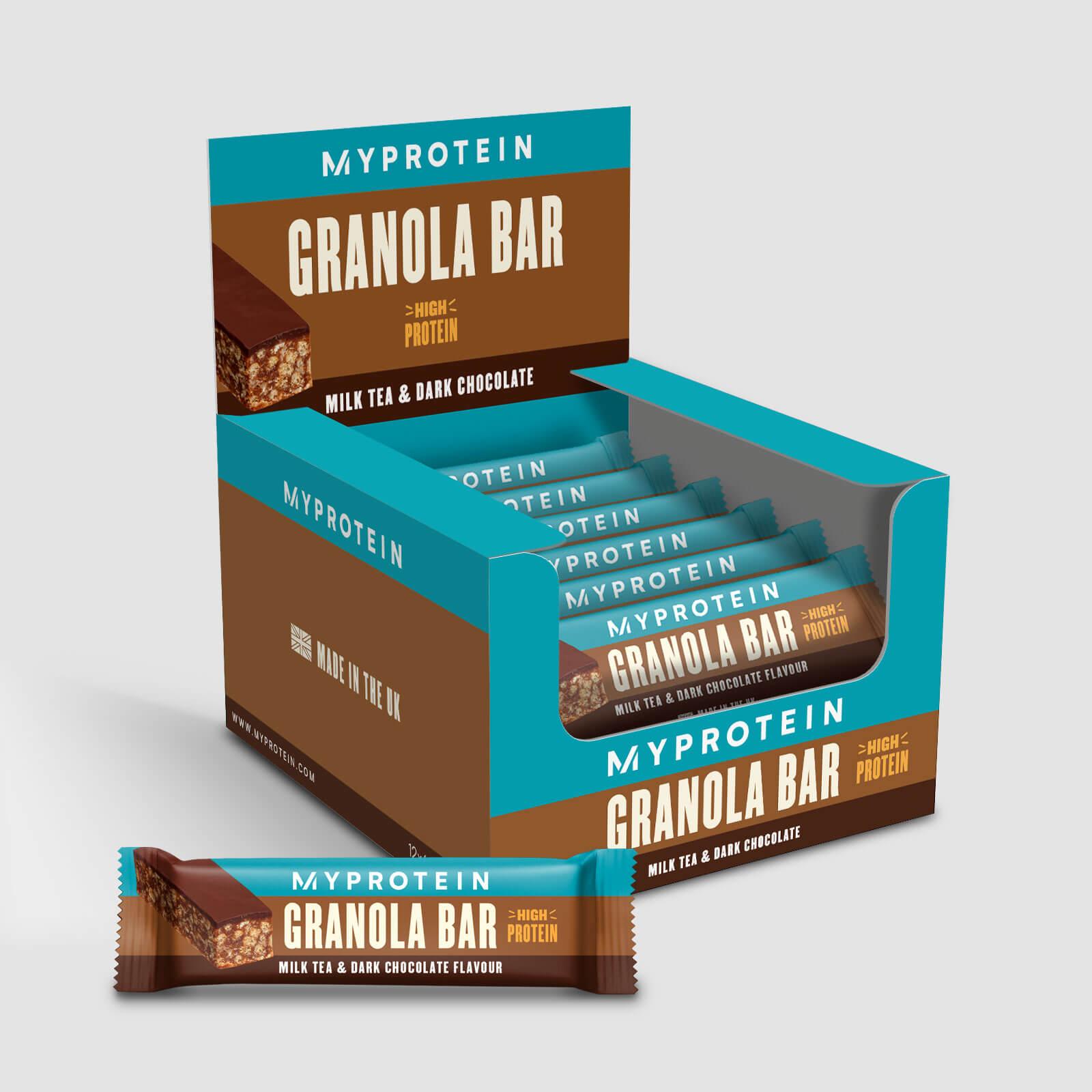Купить Батончики гранола - 12 x 45g - Milk Tea Dark Chocolate, Myprotein International