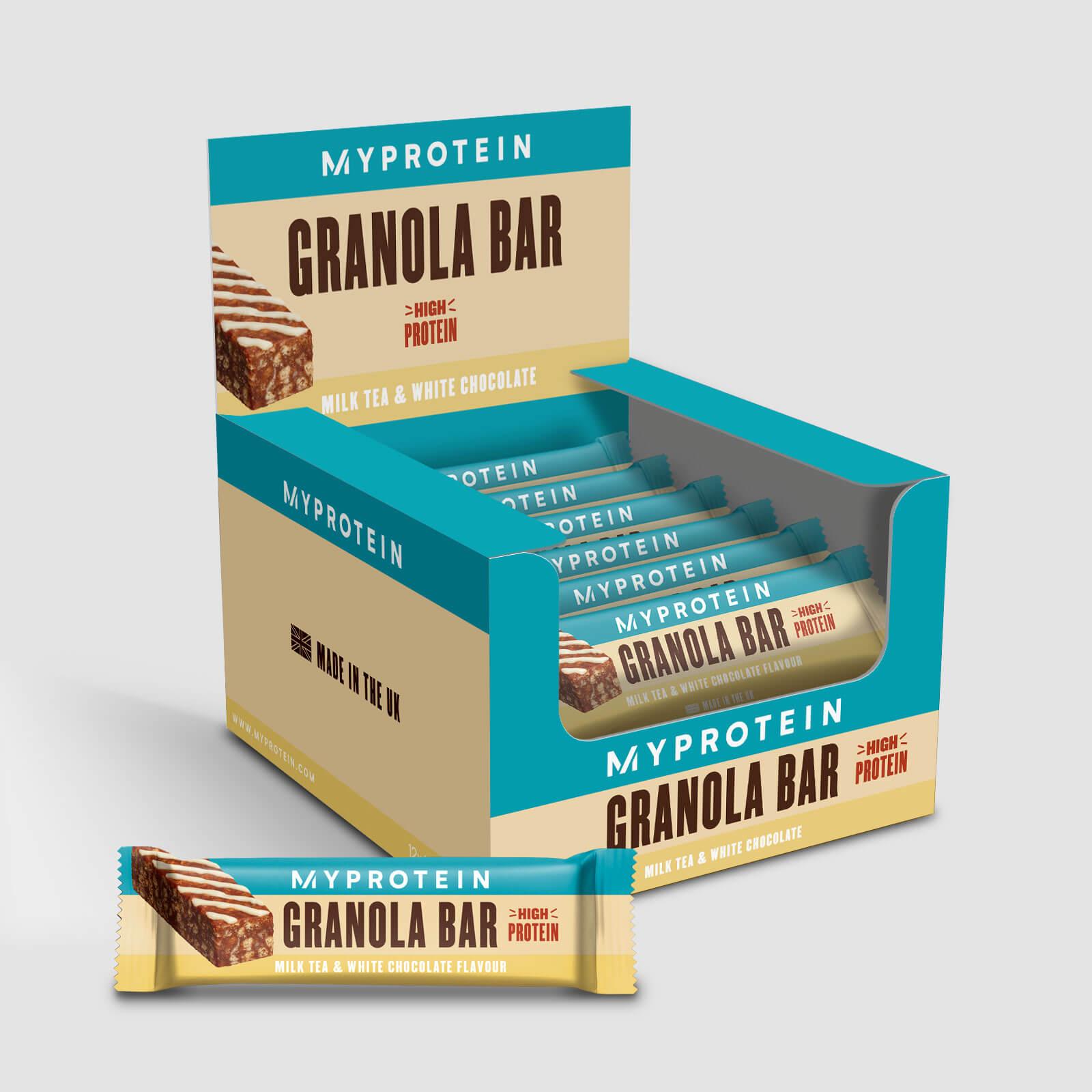 Купить Батончики гранола - 12 x 45g - Milk Tea White Chocolate, Myprotein International