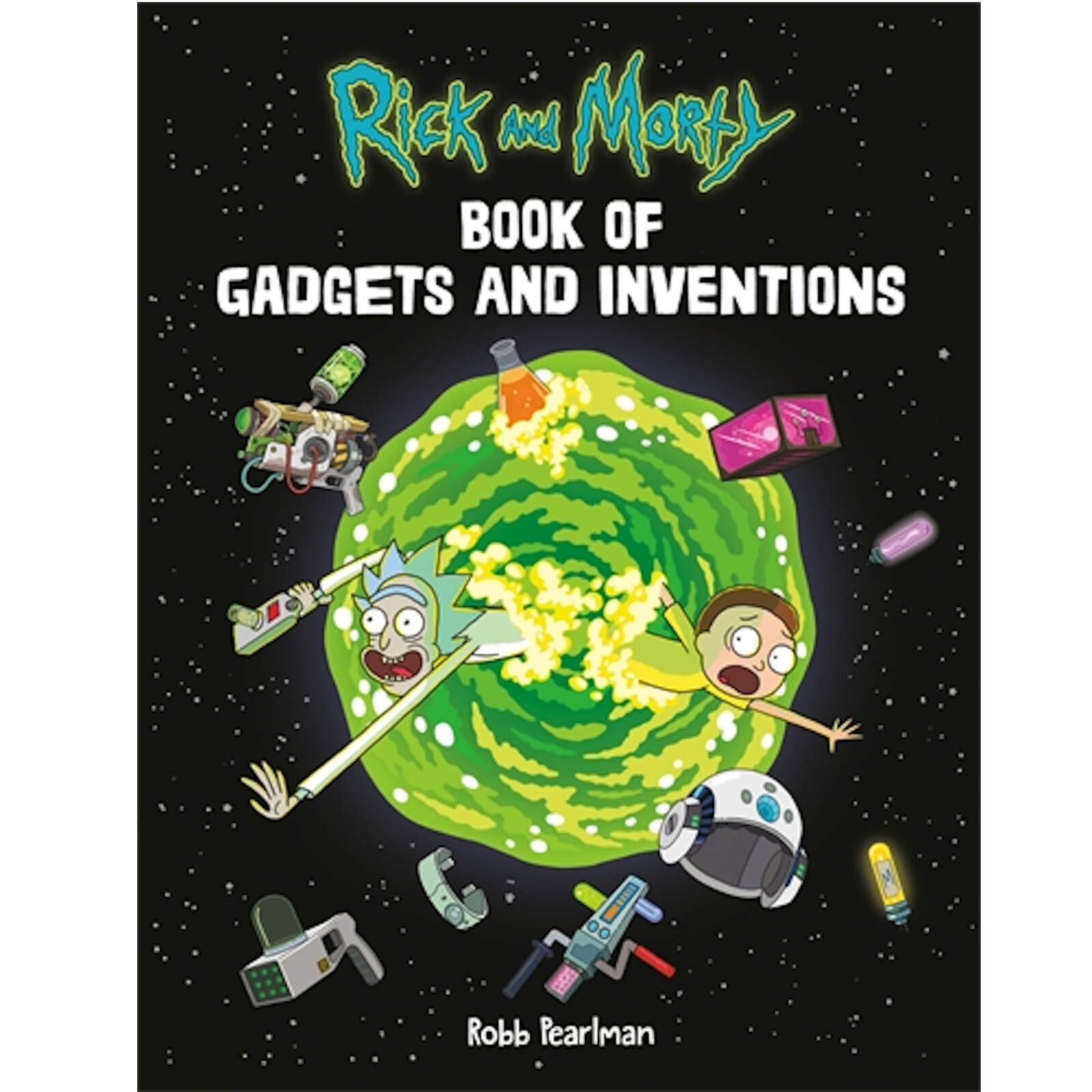 Image of Rick and Morty: Book of Gadgets and Inventions