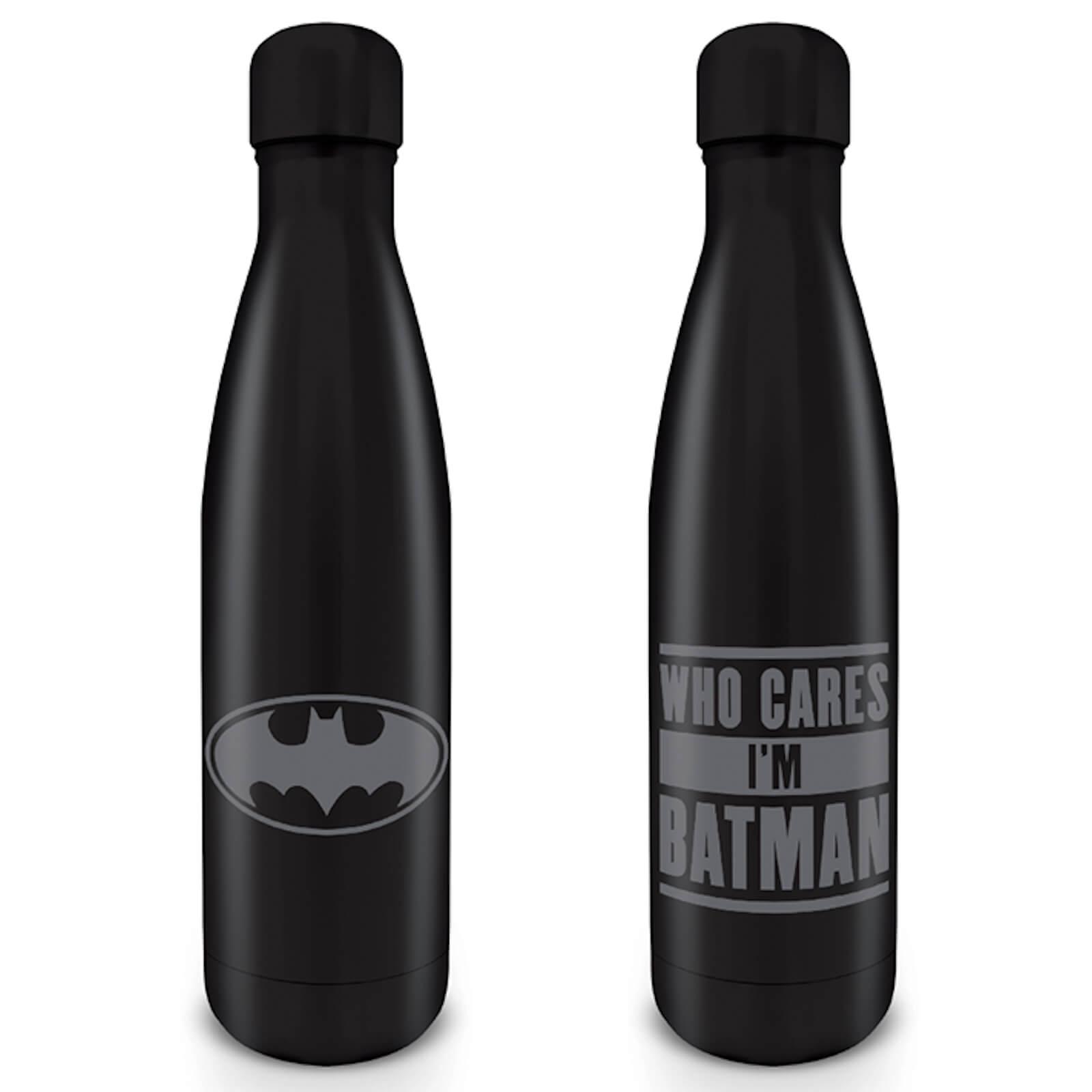 Batman (Who Cares I�m Batman) Metal Drinks Bottle