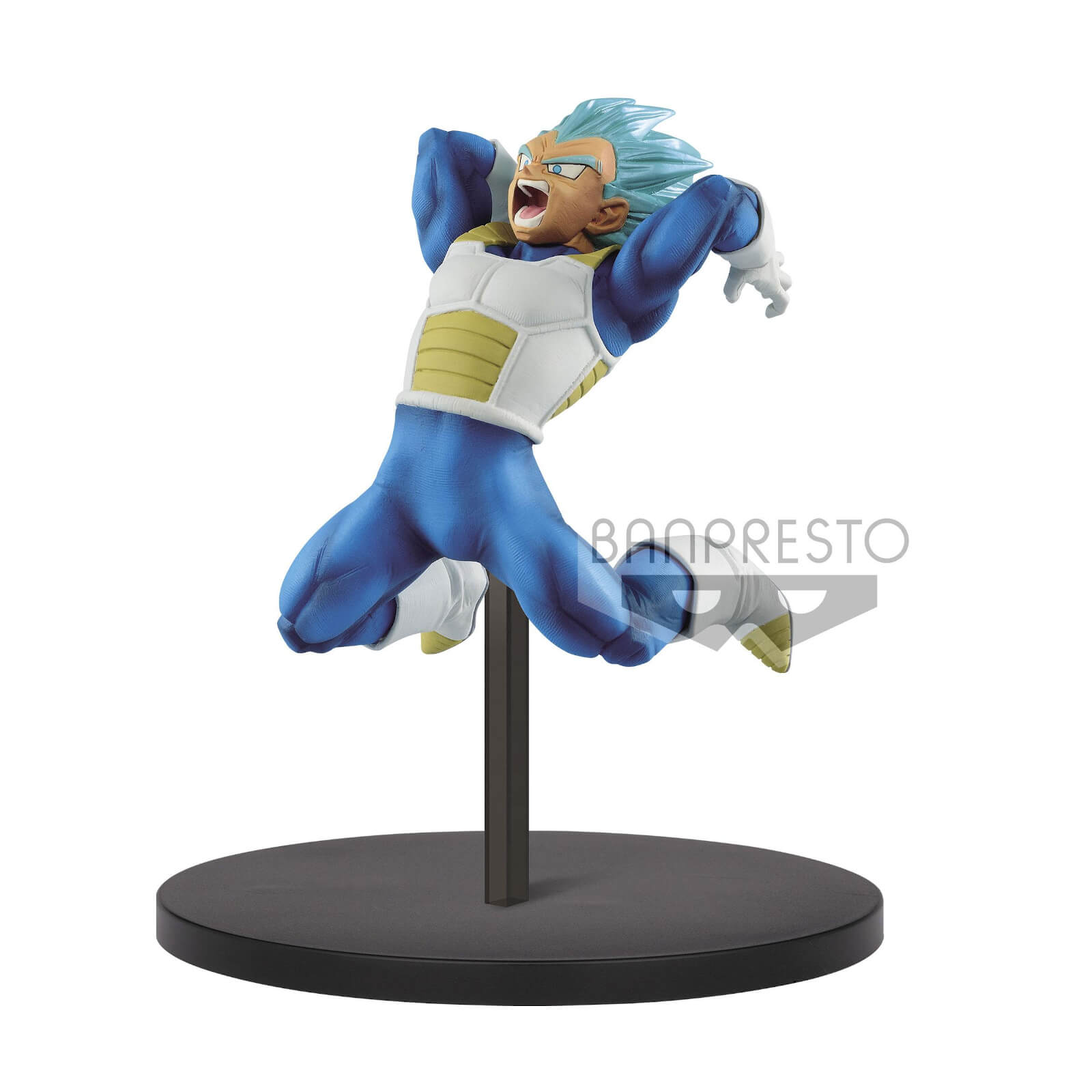 Image of Banpresto Dragon Ball Super SS Saiyin God SS Vegeta Vol.7 Statue