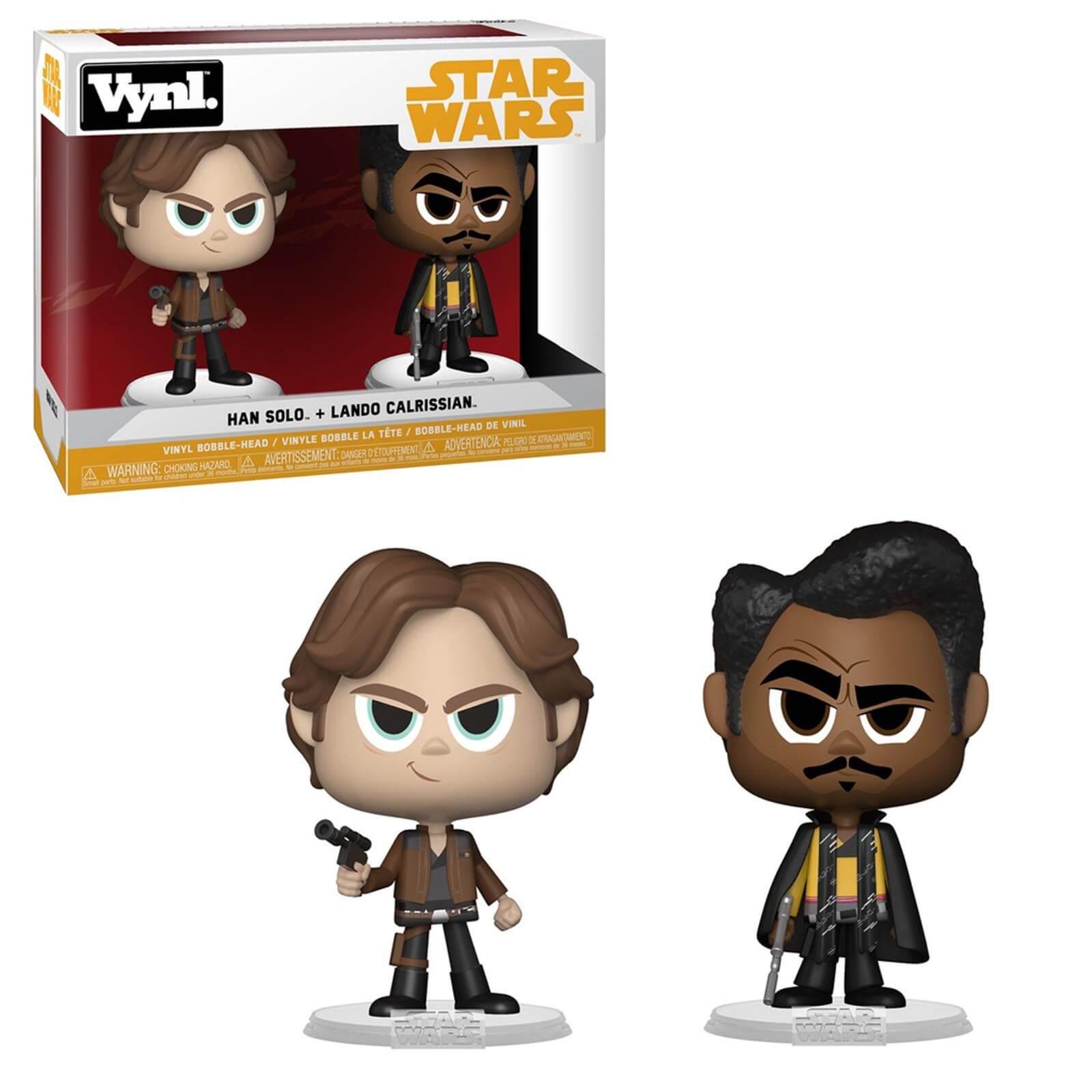 Funko Star Wars Han Solo & Lando Calrissian VYNL.