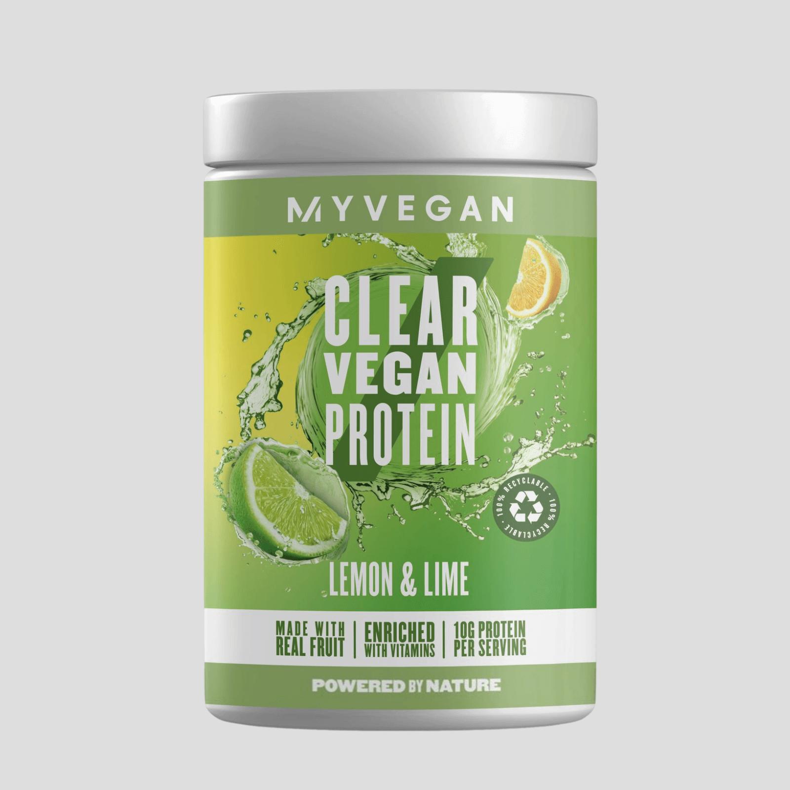 Clear Vegan Protein - 20servings - Zitrone & Limette