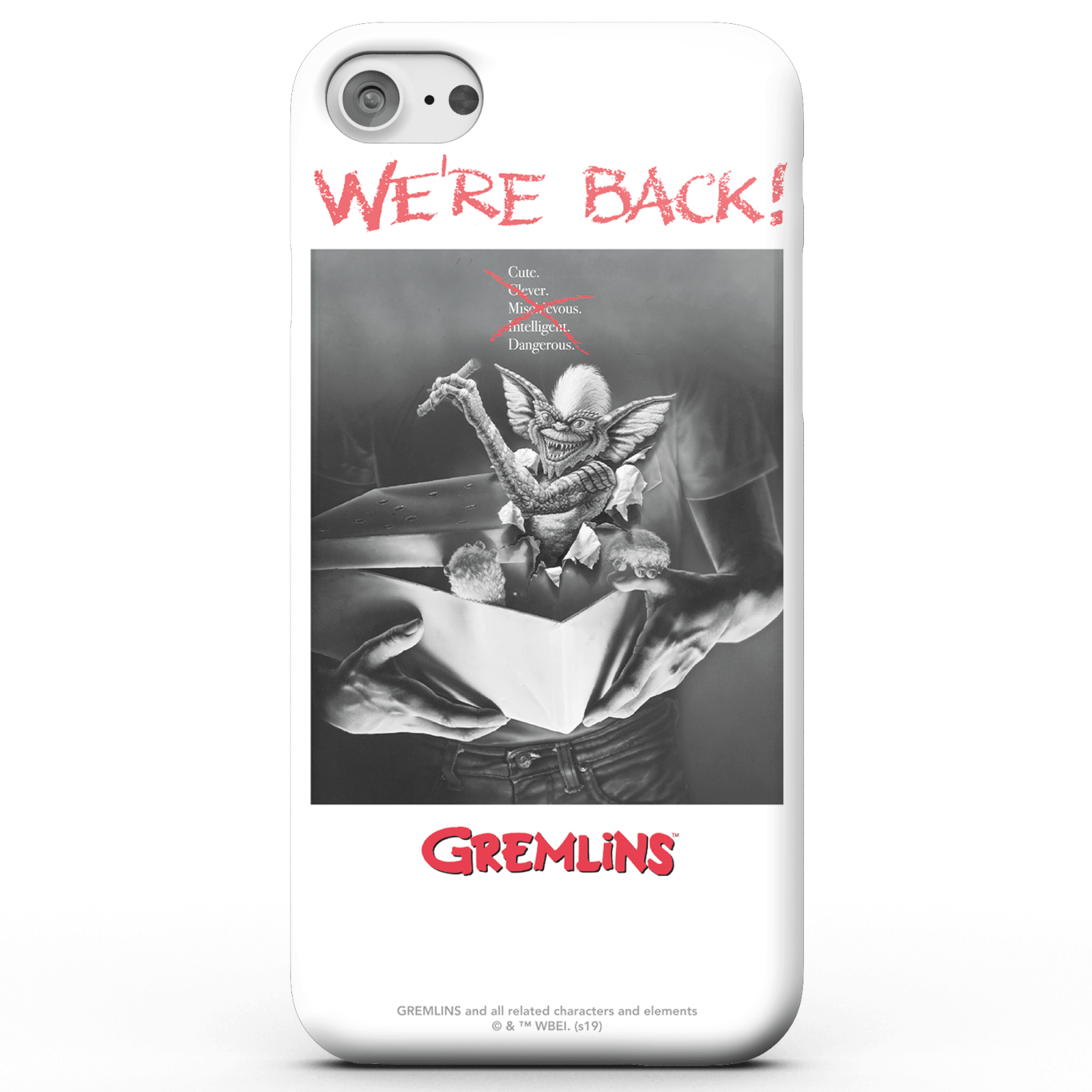 Gremlins Invasion Phone Case for iPhone and Android - Samsung S8 - Tough Case - Gloss