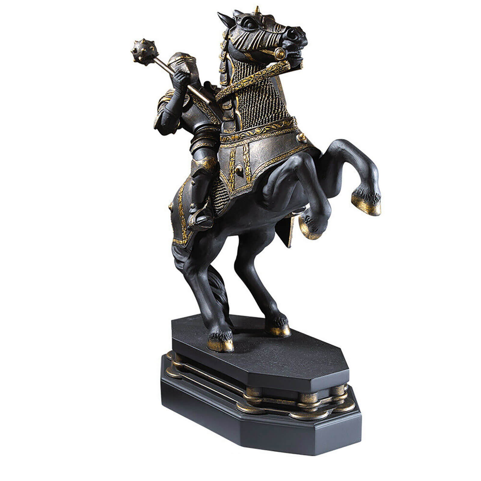 Image of Harry Potter Wizards Chess Black Knight Bookend