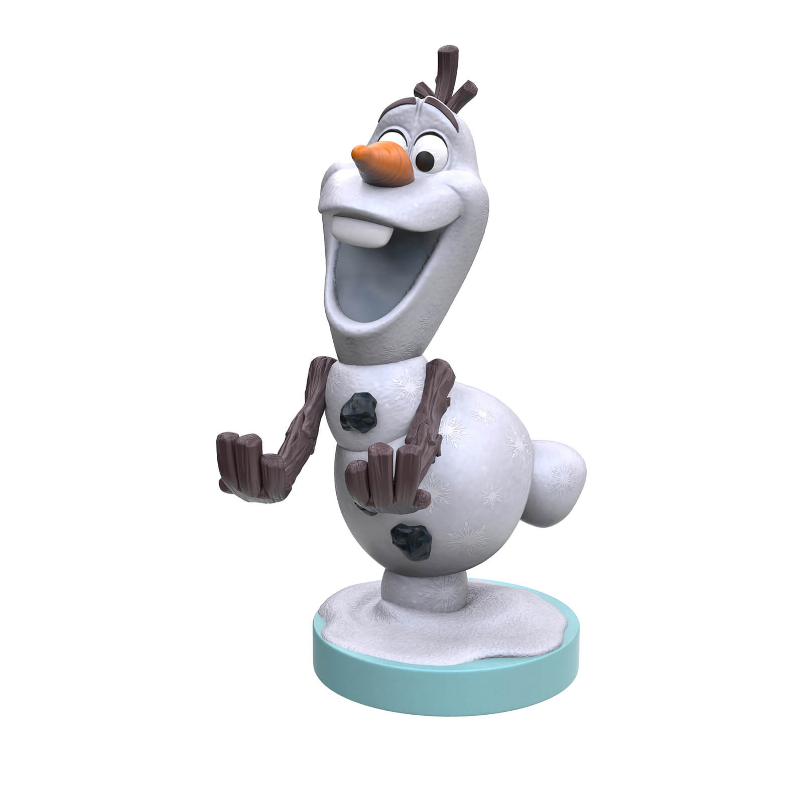 Image of Disney Collectable Frozen Olaf 8 Inch Cable Guy Controller and Smartphone Stand