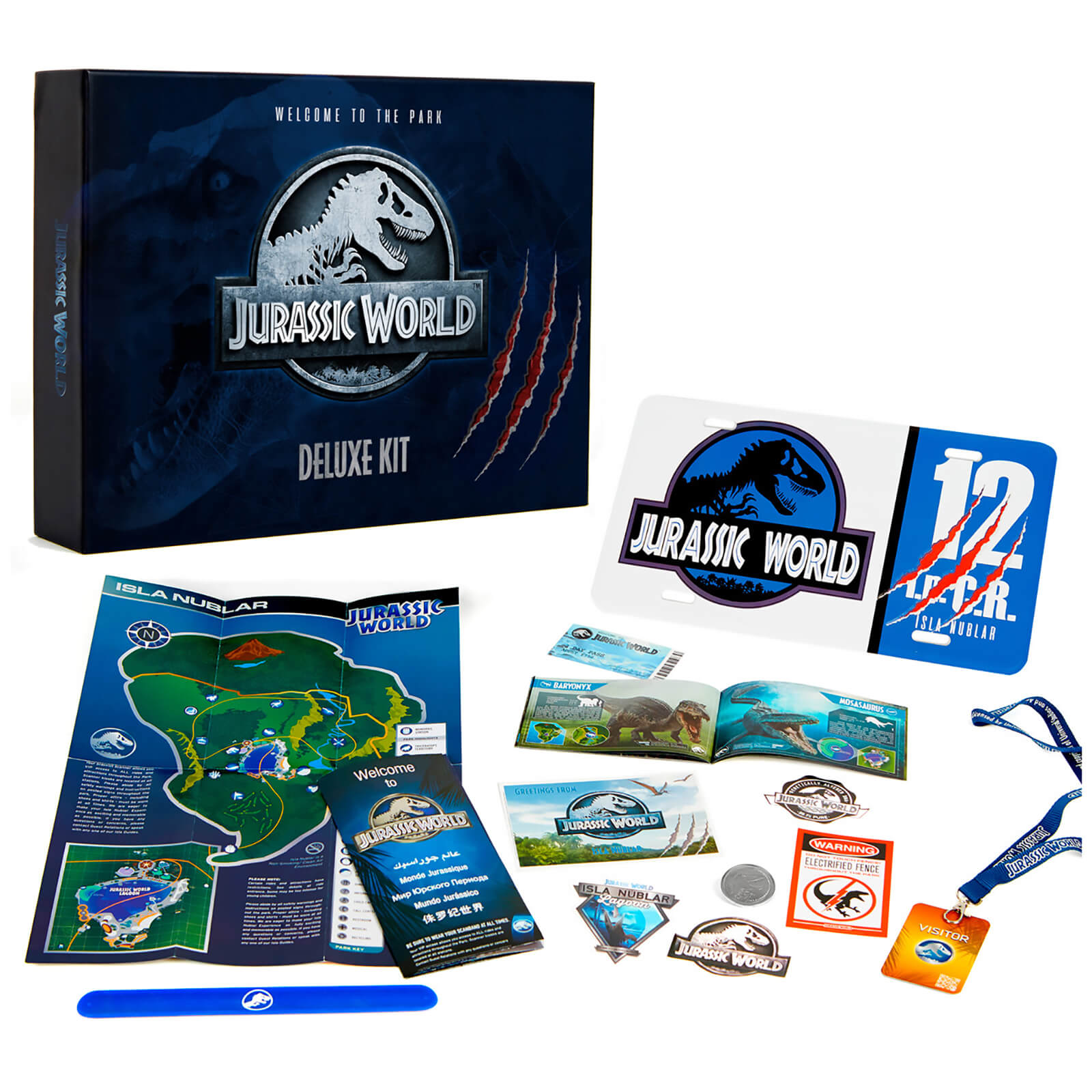 Image of Doctor Collector Jurassic World Deluxe Kit