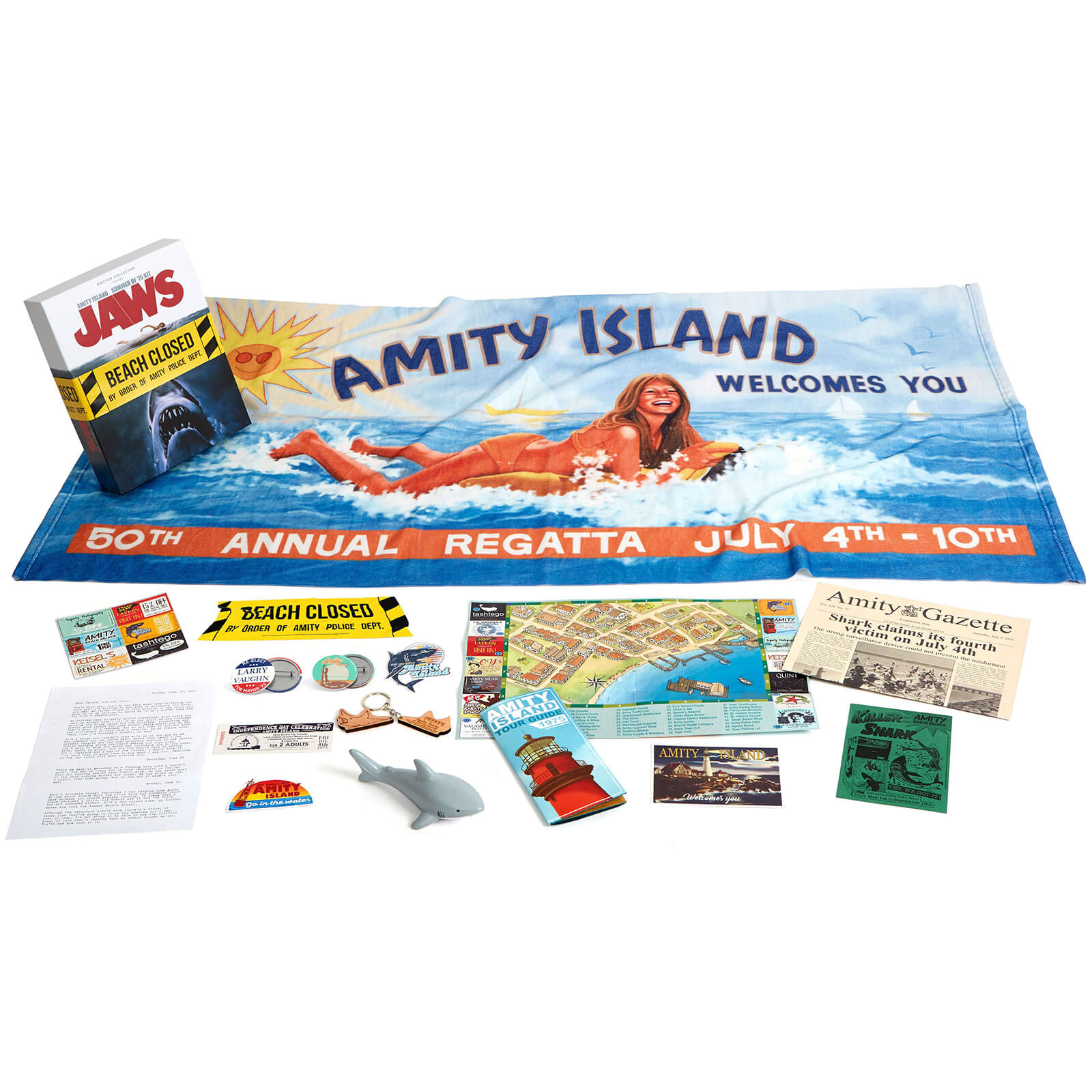 Image of Doctor Collector Jaws Amity Island Summer of '75 Kit