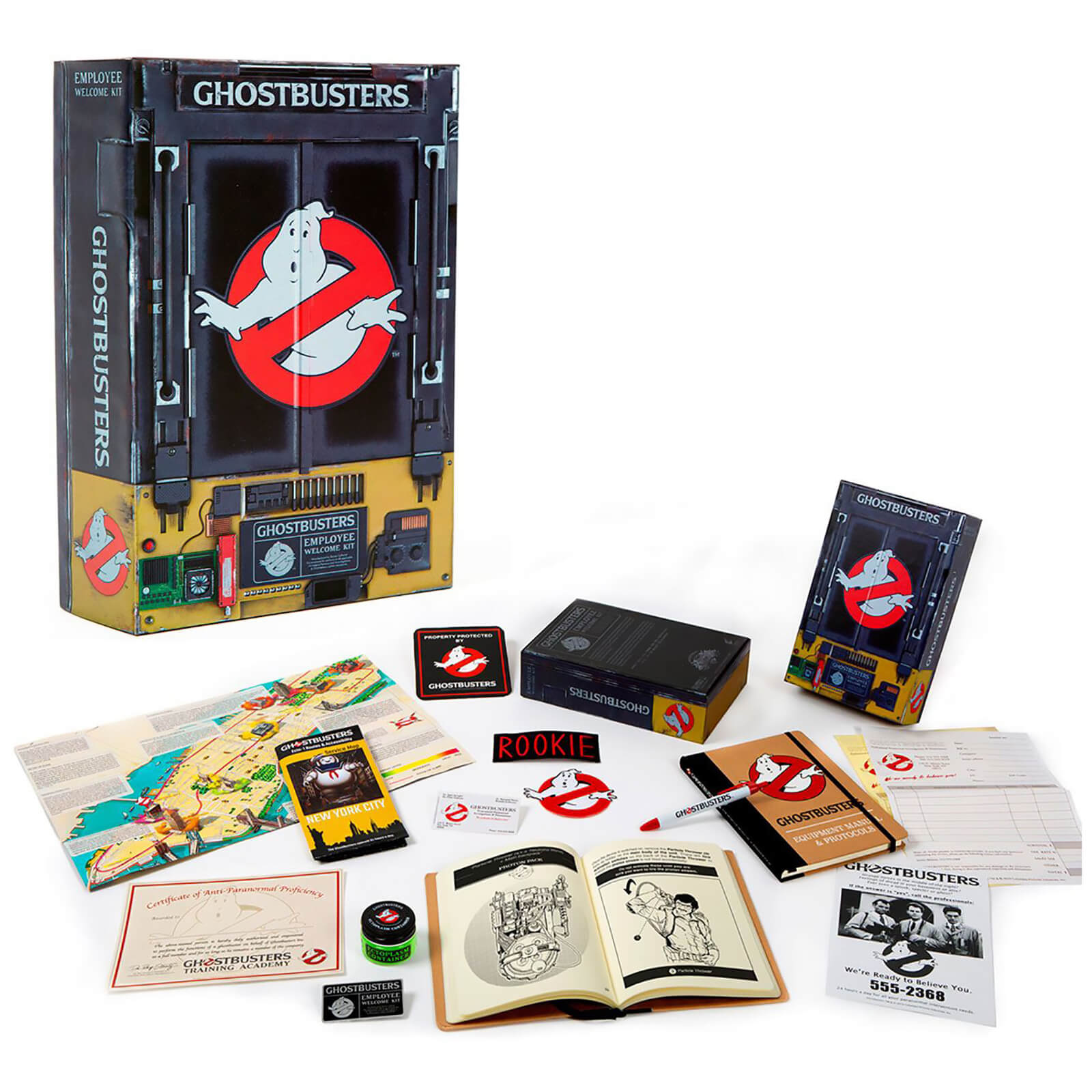 Image of Doctor Collector Ghostbusters Employee Welcome Kit
