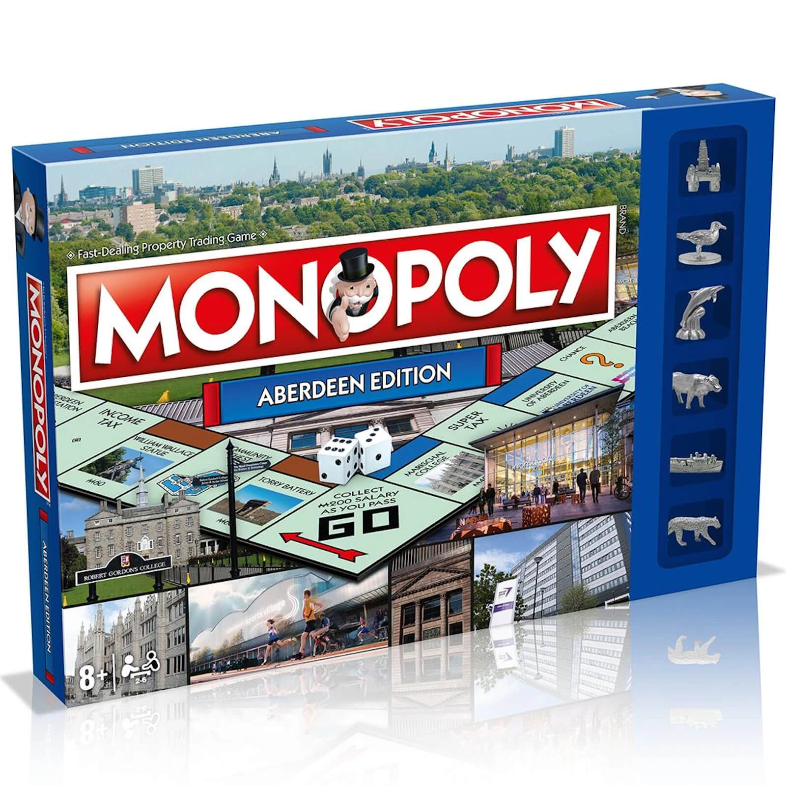 Image of Monopoly Board Game - Aberdeen Edition