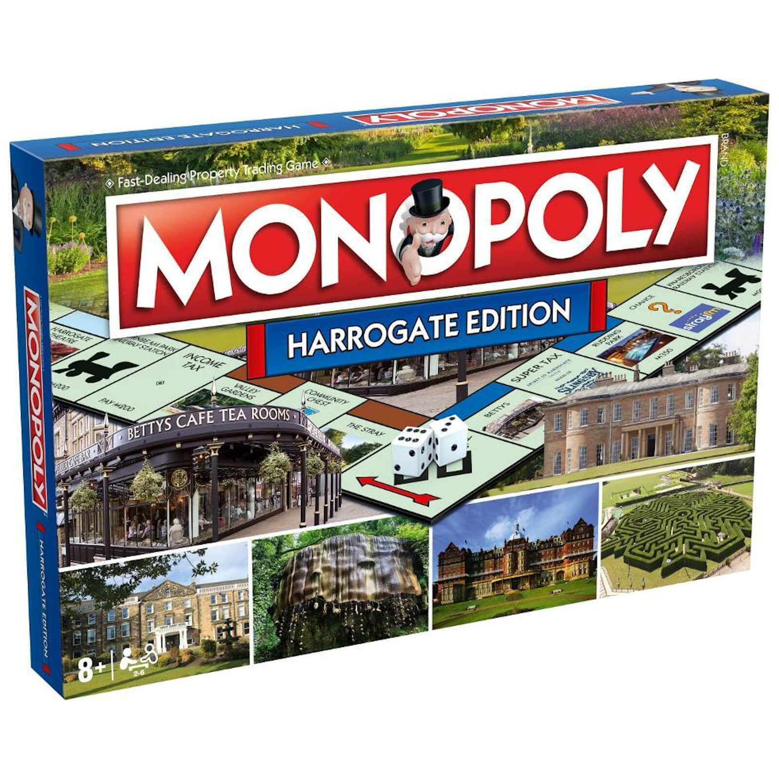 Image of Monopoly Board Game - Harrogate Edition