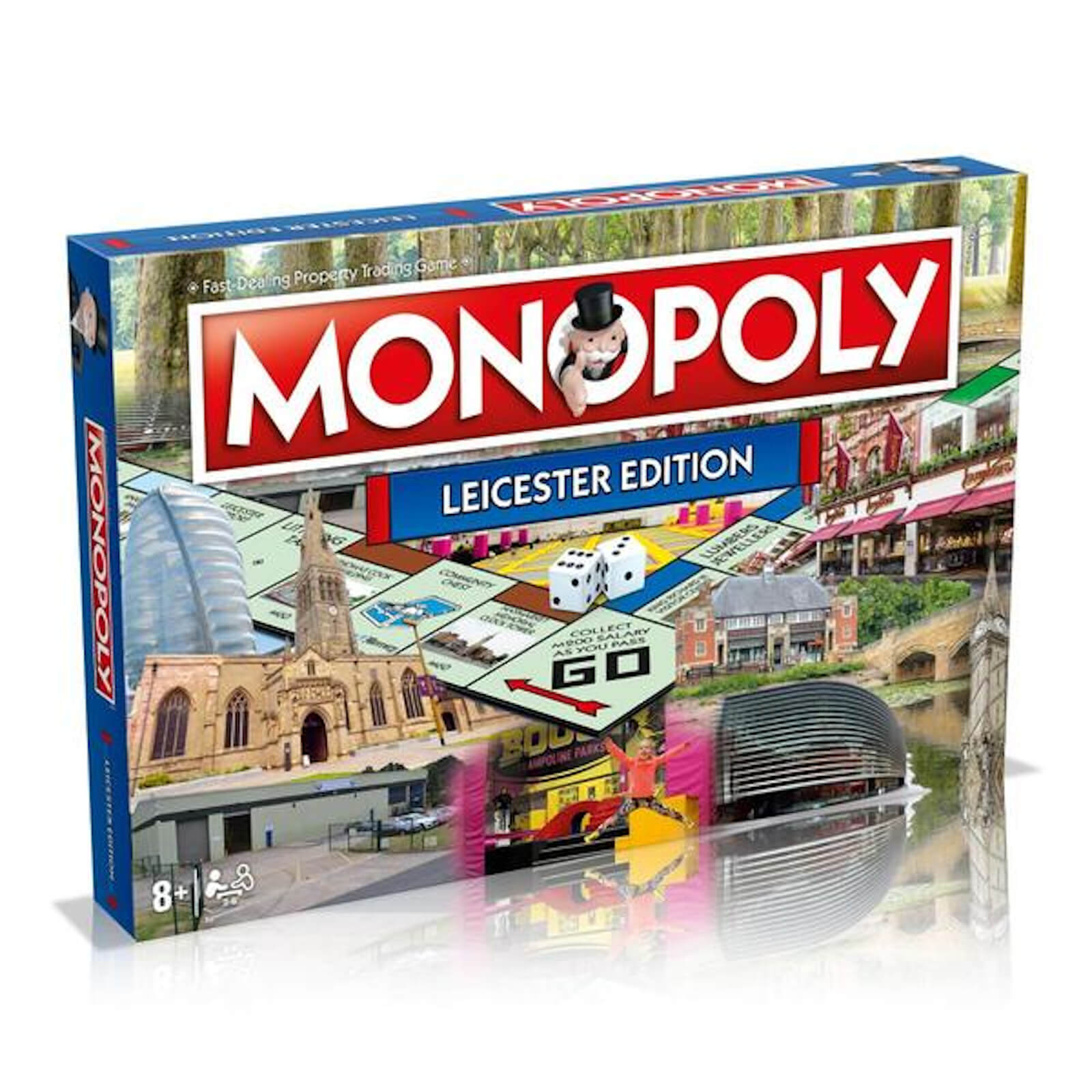Image of Monopoly Board Game - Leicester Edition