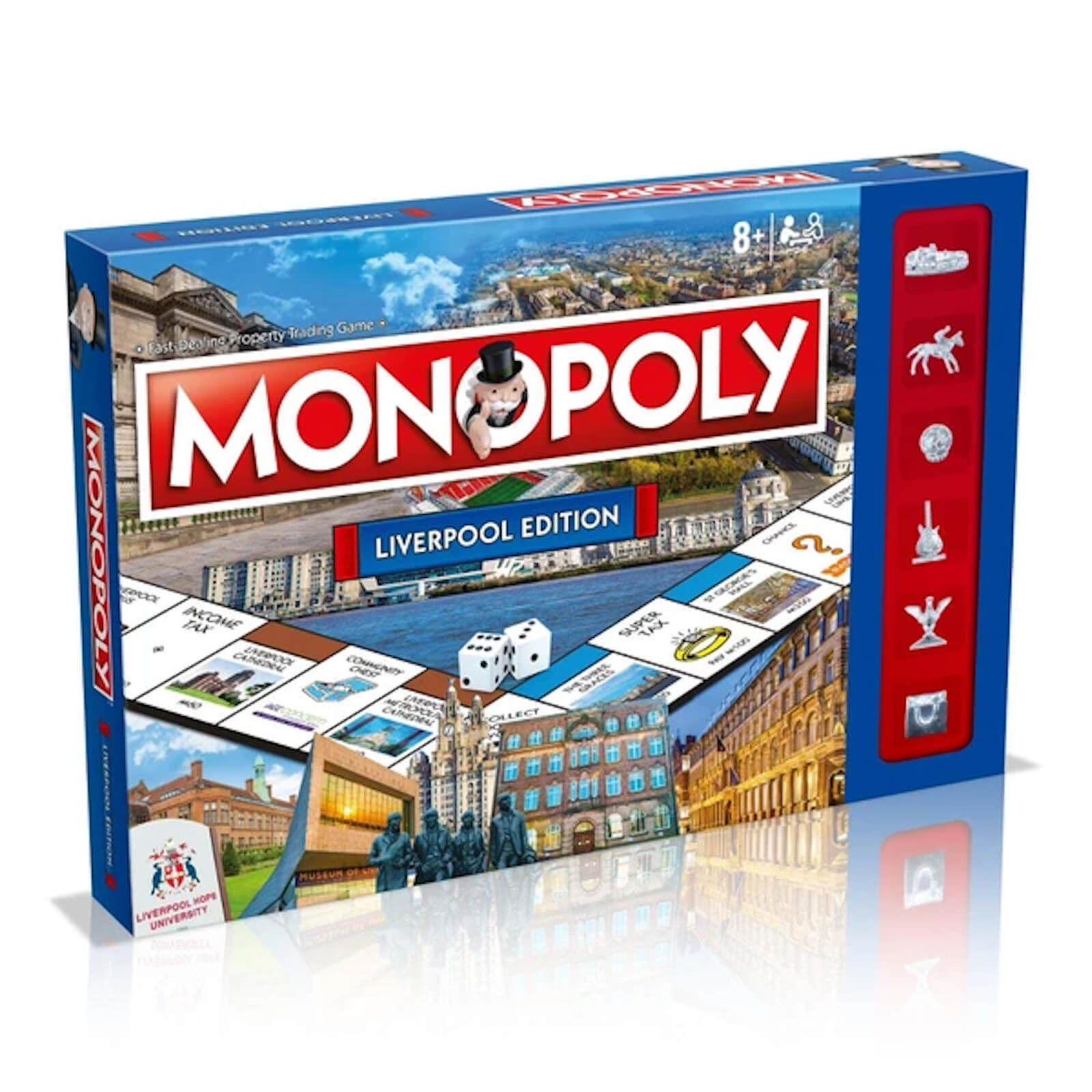 Image of Monopoly Board Game - Liverpool Edition