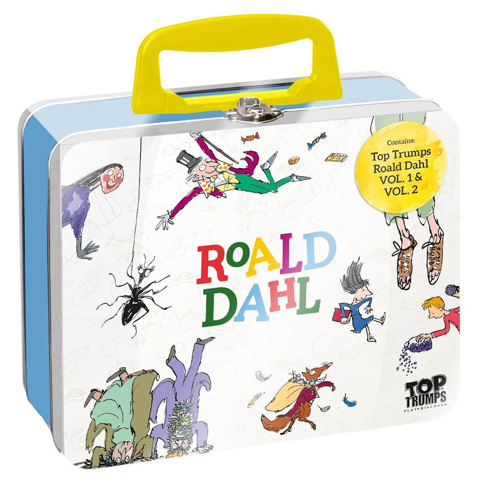 Image of Top Trumps Collector's Tin Card Game - Roald Dahl Edition
