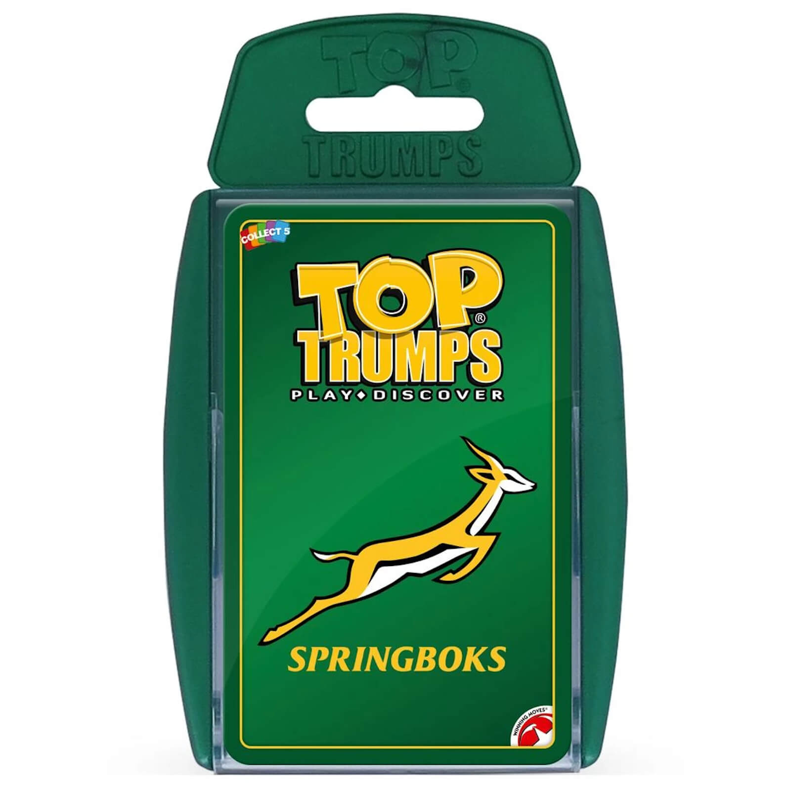 Image of Top Trumps Card Game - Springbok Edition