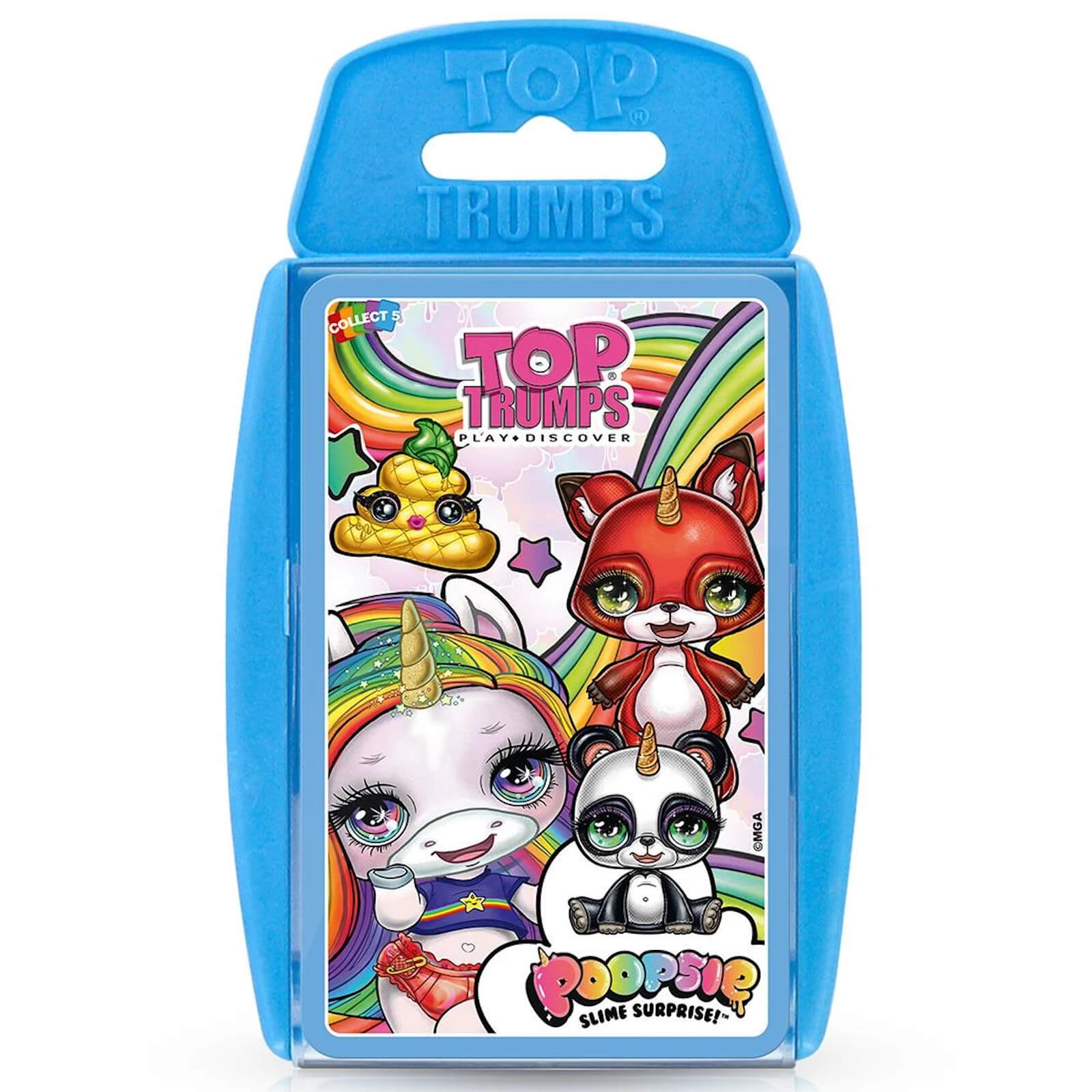 Image of Top Trumps Card Game - Poopsie Unicorn Edition