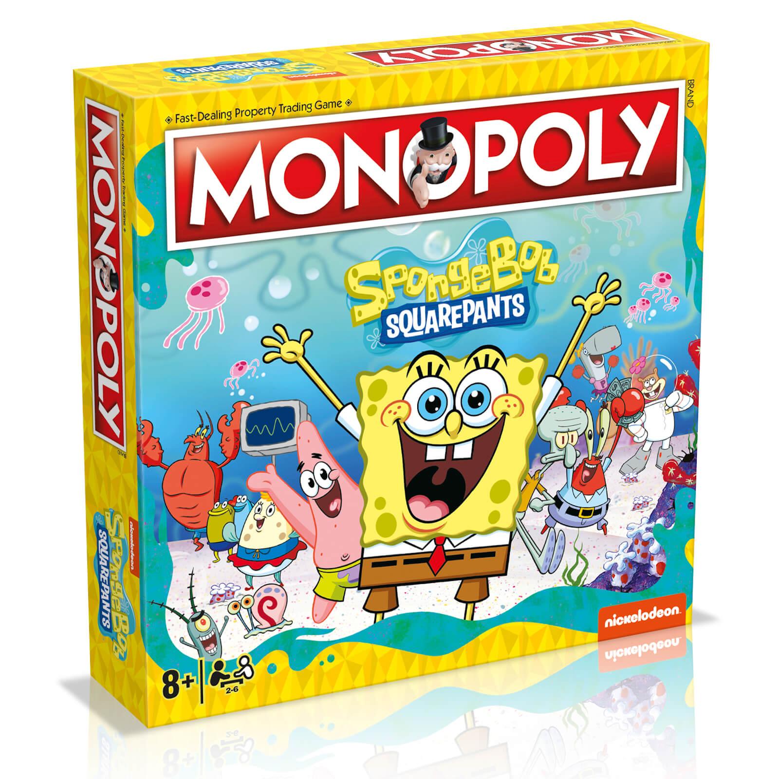 Image of Monopoly Board Game - Spongebob Squarepants