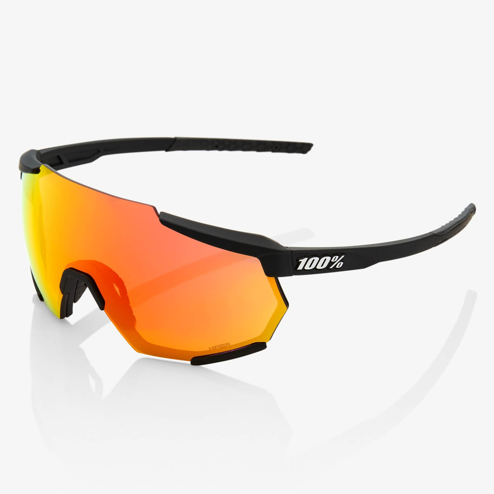 100% Speedcraft Sl Sunglasses - Soft Tact Midnight Mauve/purple Lens