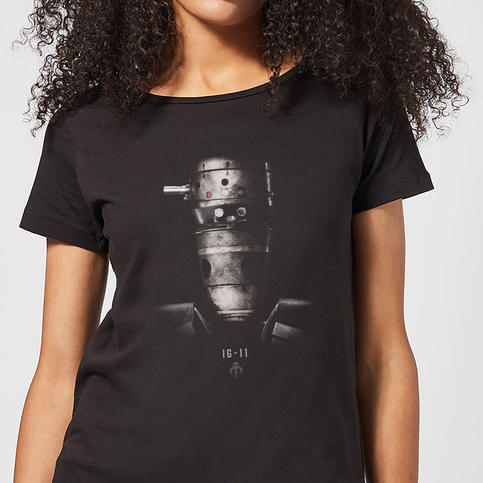 The Mandalorian IG-11 Poster Women's T-Shirt - Black - XXL - Schwarz