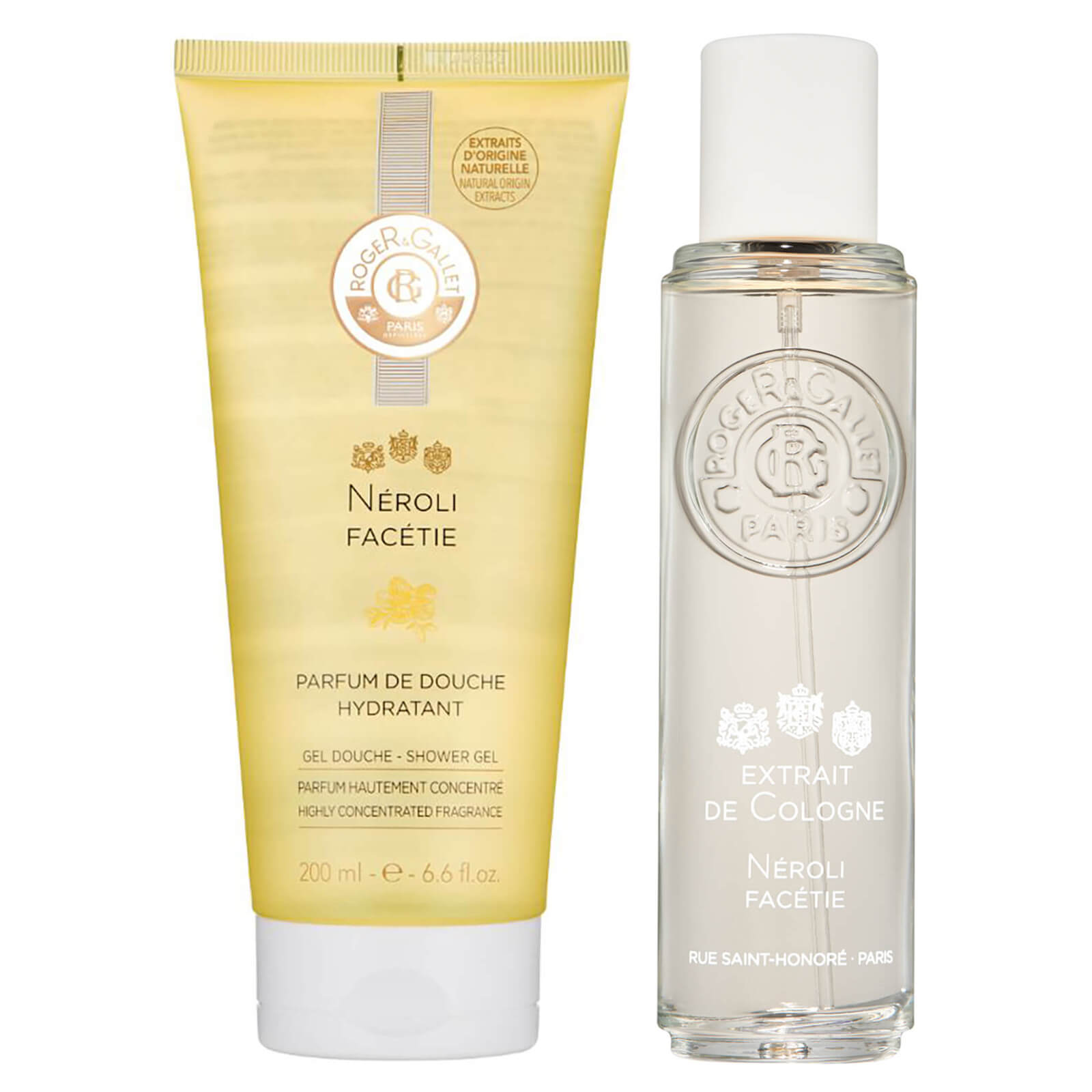 Roger & Gallet Neroli Facetie Bundle