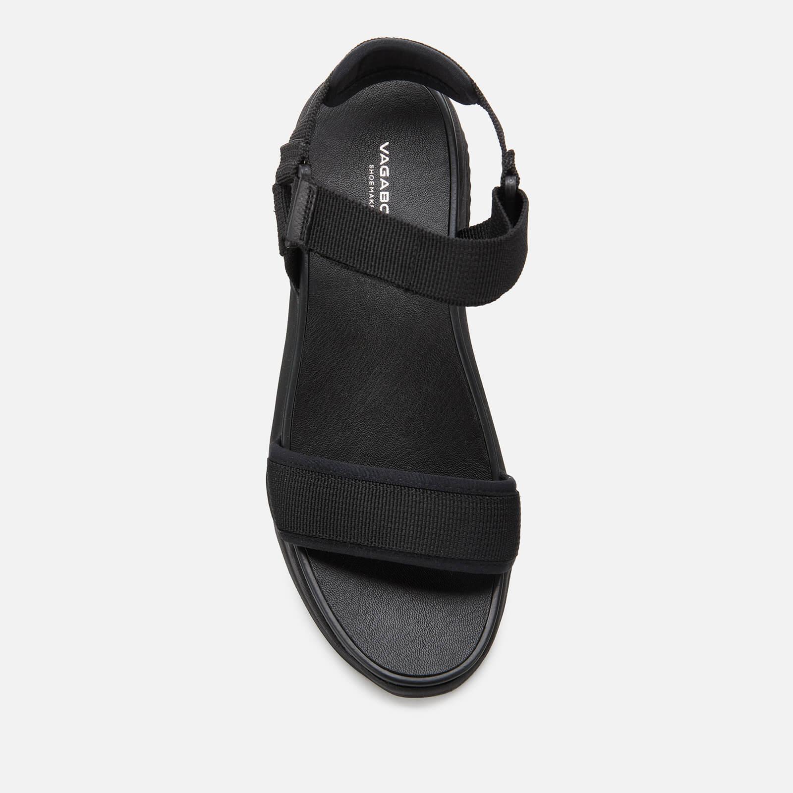 Vagabond Women's Lori Chunky Sandals - Black/Black - Uk 8