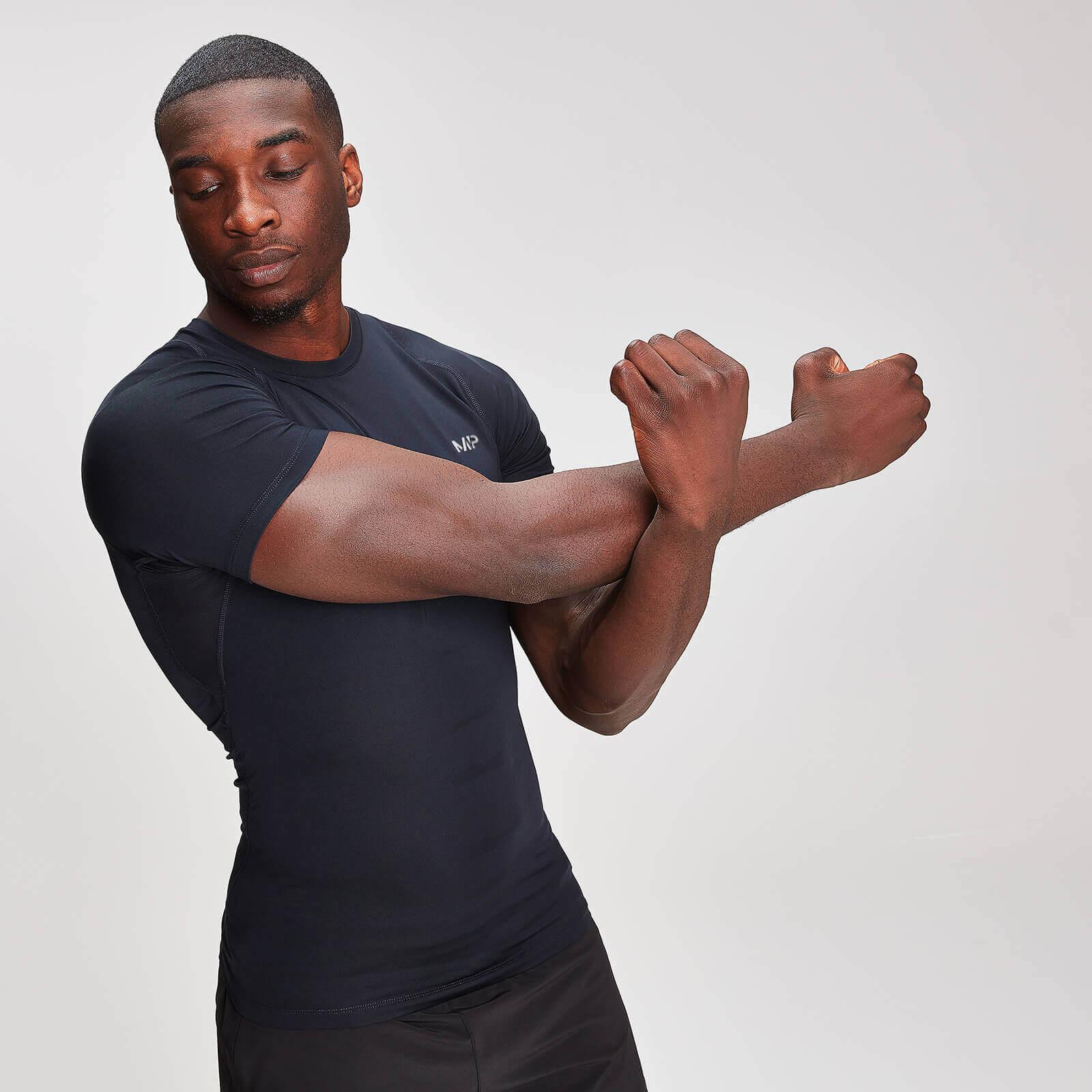 Купить Мужская футболка MP Base Layer с коротким рукавом, черная - XS, Myprotein International