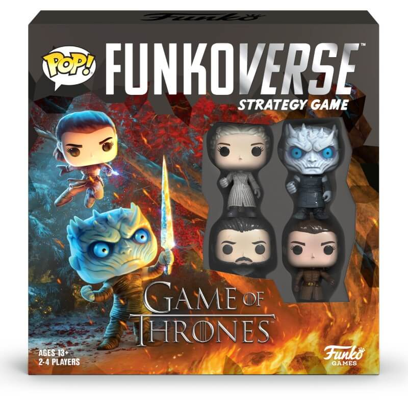 Image of Funkoverse Game of Thrones Strategy Game (4 Pack)