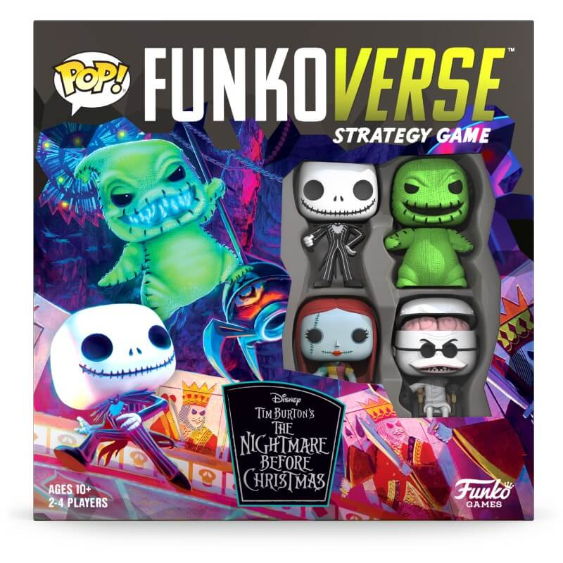 Funkoverse The Nightmare Before Christmas Board Game (4 Players)
