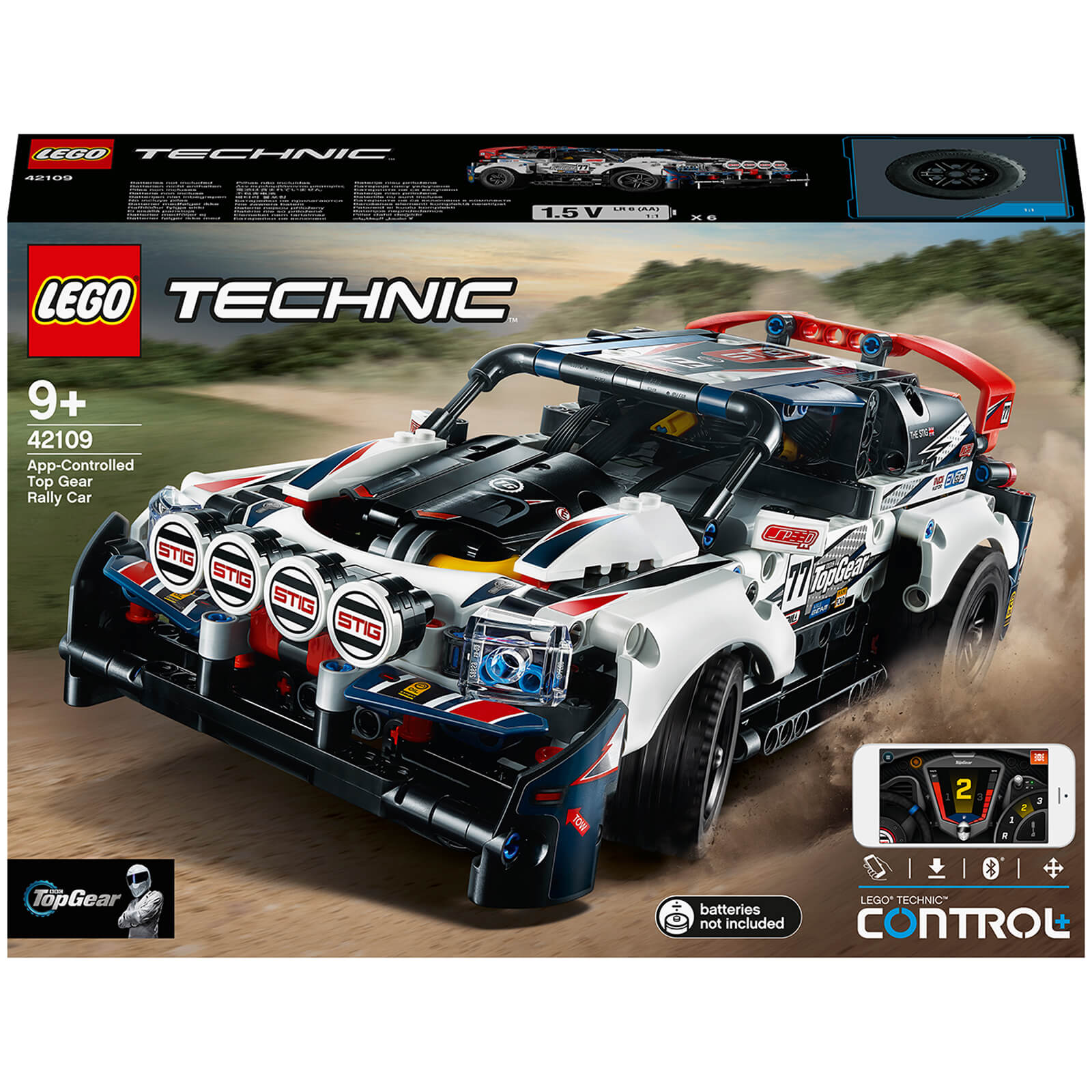 Image of 42109 LEGO® TECHNIC Top-Gear Ralleycar with app control