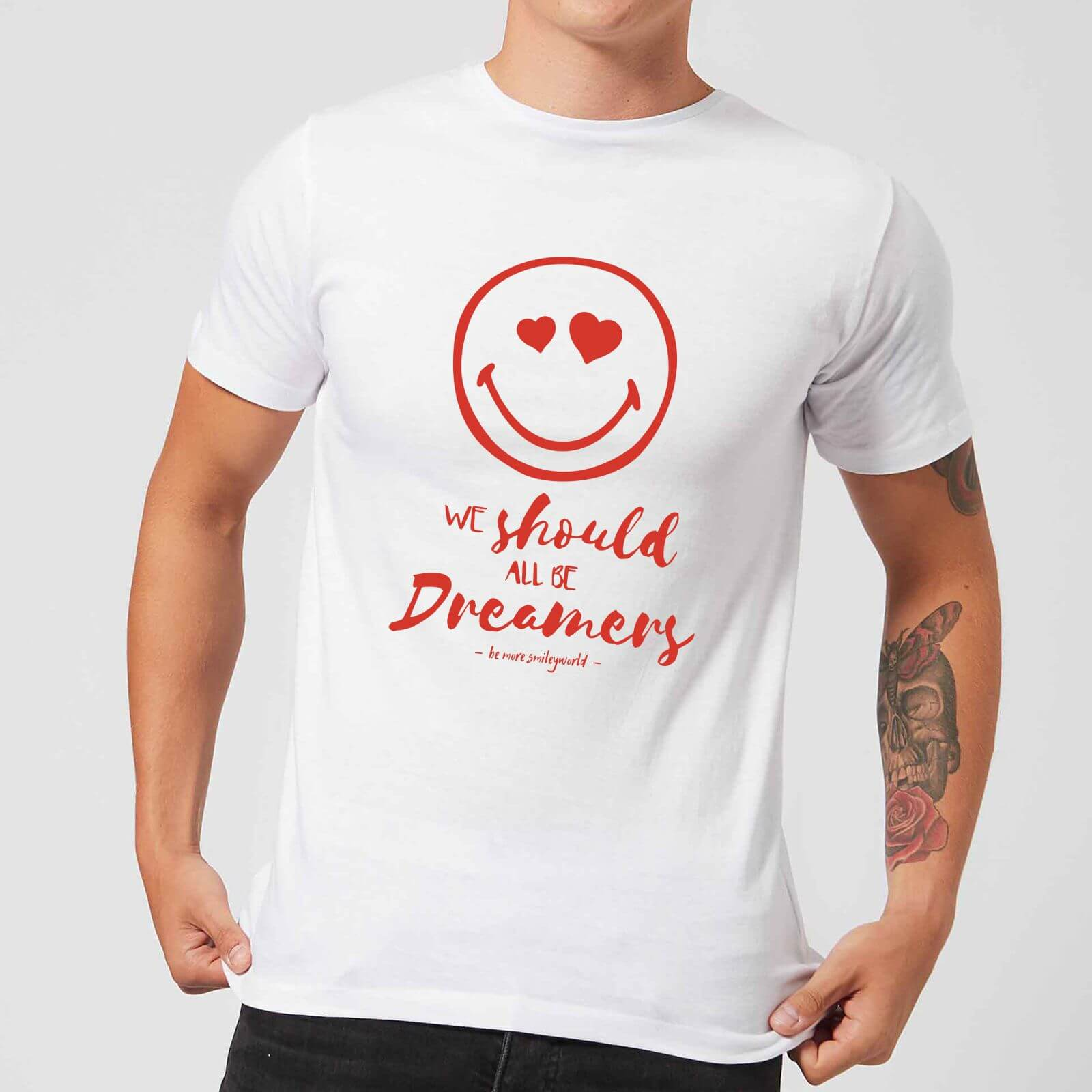 We Should All Be Dreamers Men's T-Shirt - White - 4XL - White